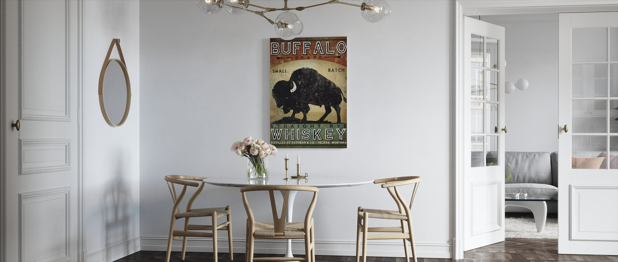 Buffalo Whiskey - Canvas print - Kitchen