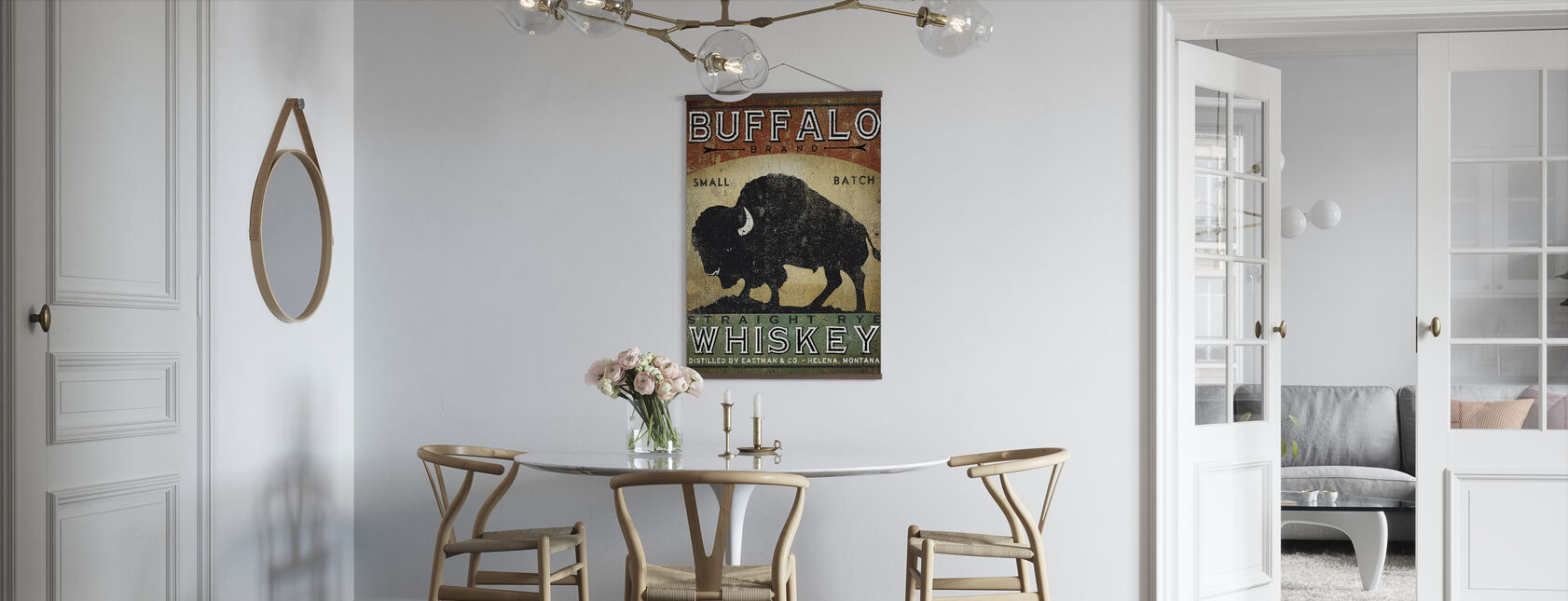 Buffalo Whisky - Affiche - Cuisine