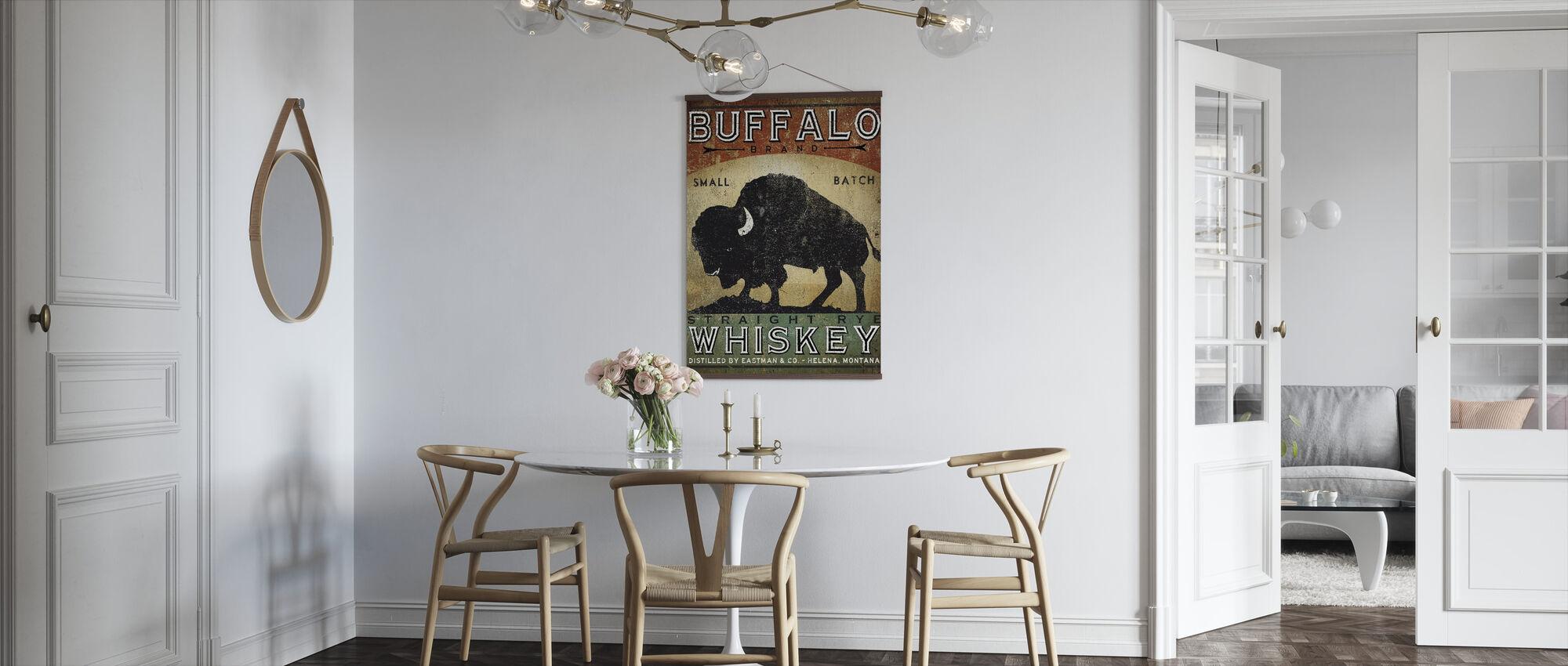 Buffalo viski - Juliste - Keittiö