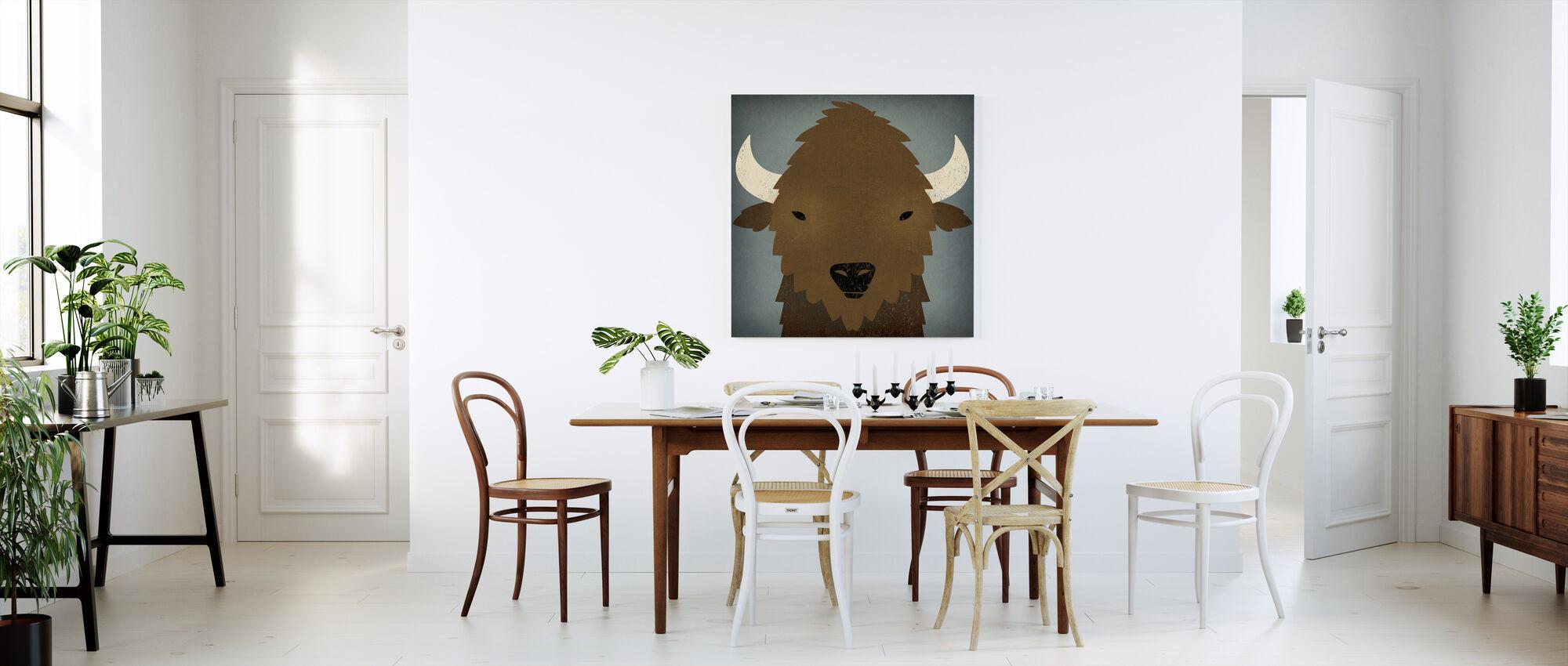 Buffalo Blues - Canvas print - Kitchen