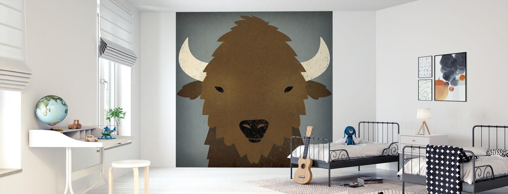 Buffalo Blues - Wallpaper - Kids Room