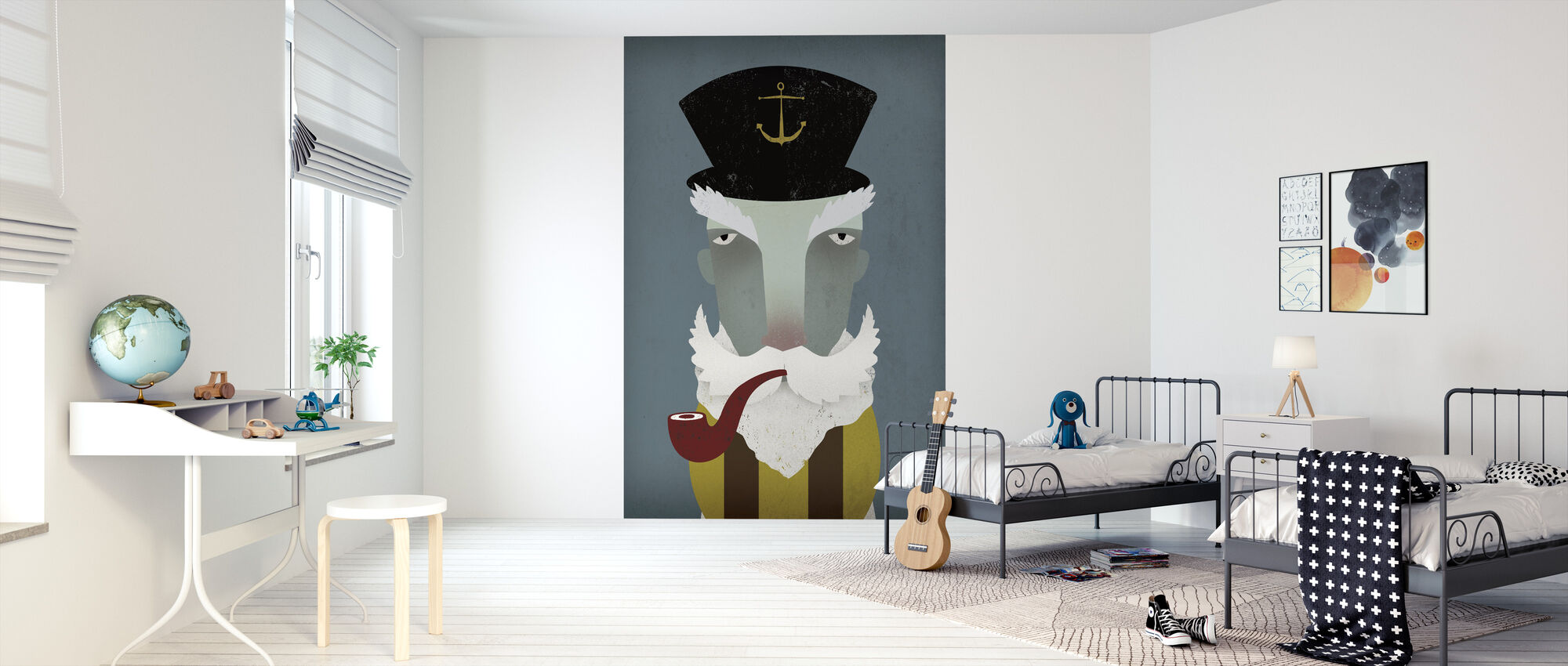 Fisherman - Wallpaper - Kids Room