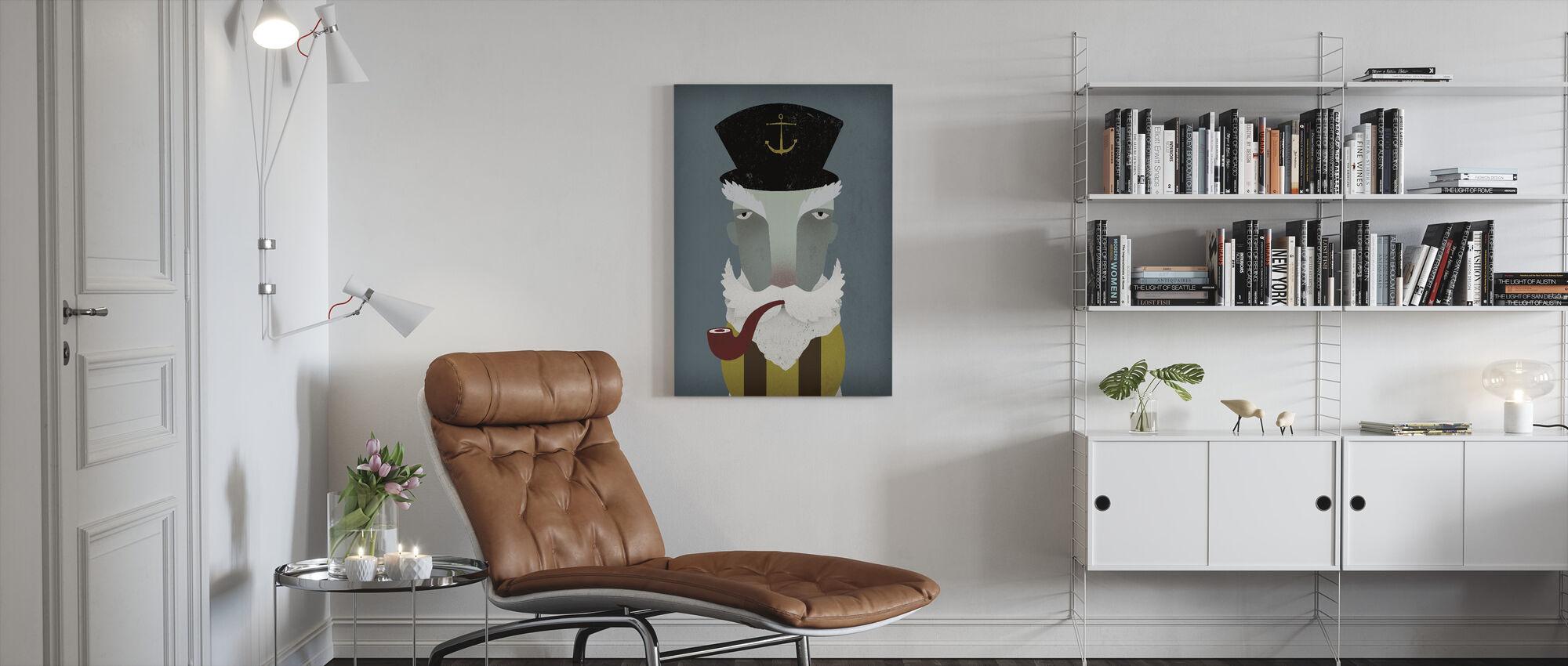 Visser - Canvas print - Woonkamer