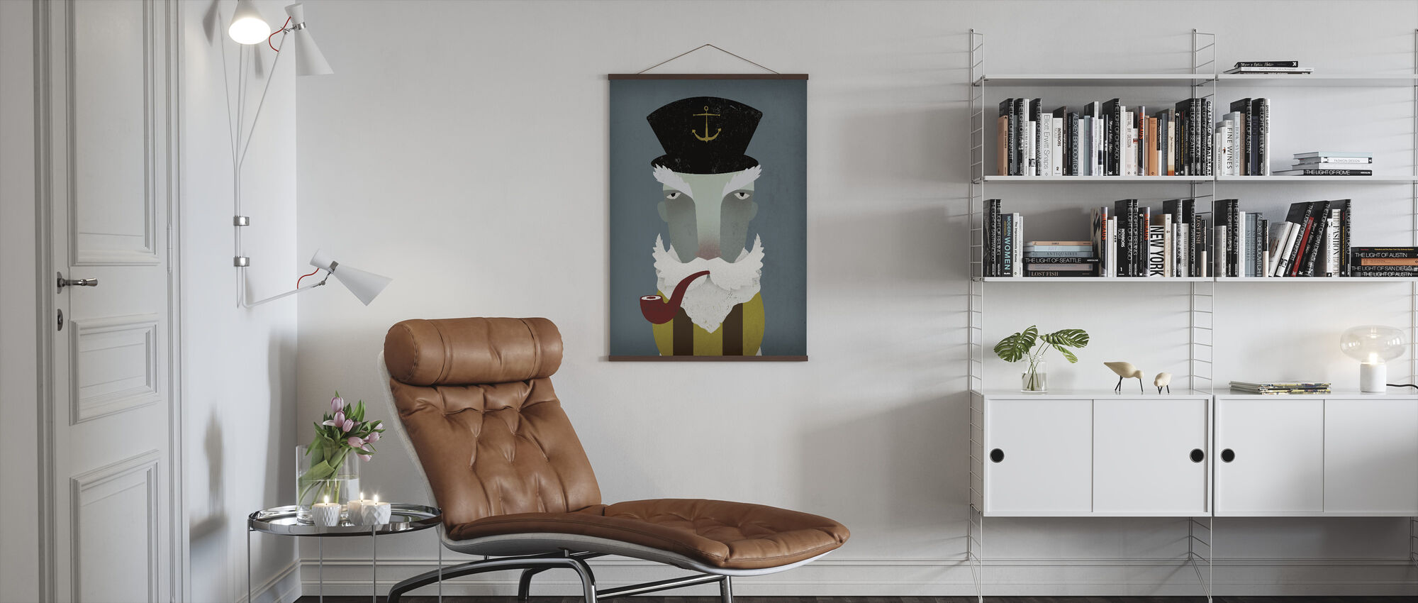 Fisherman - Poster - Living Room