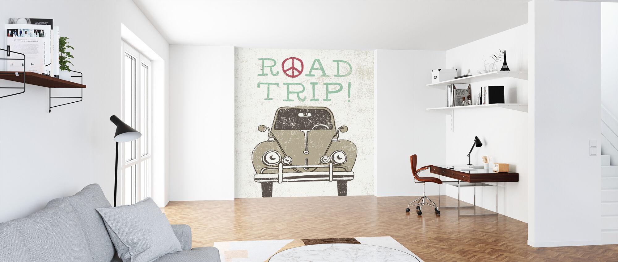 Road Trip - Beetle - Wallpaper - Office