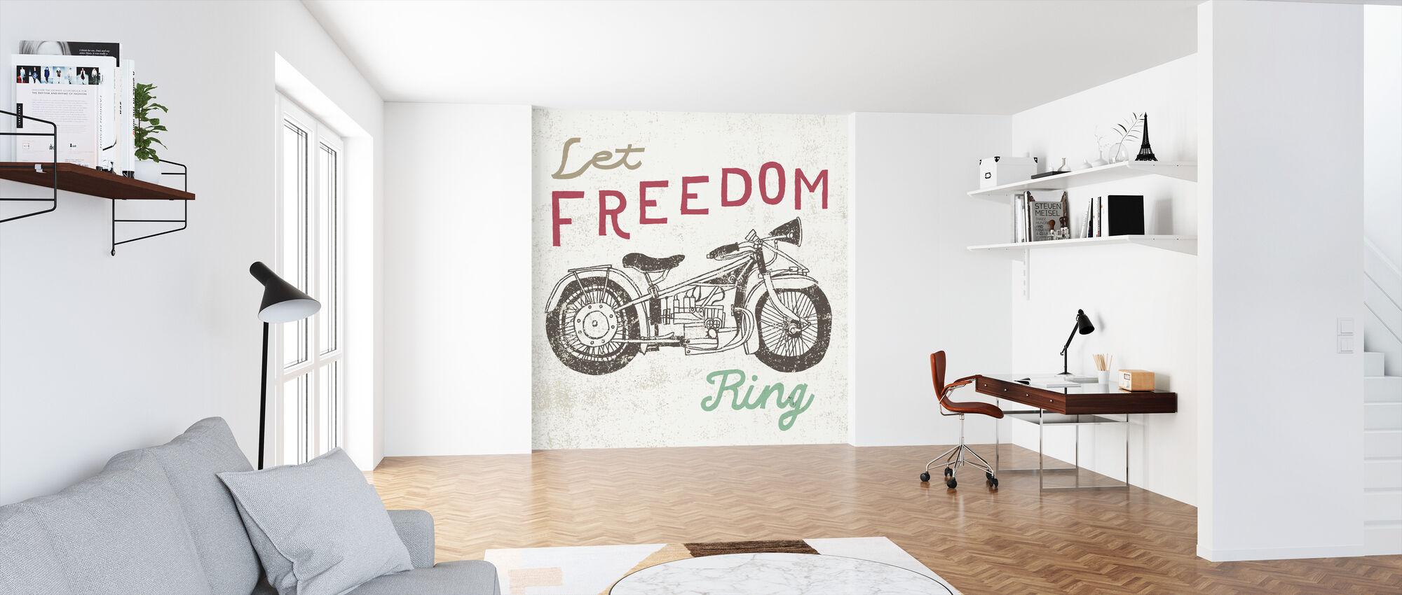 Road Trip Motorcycle - Wallpaper - Office