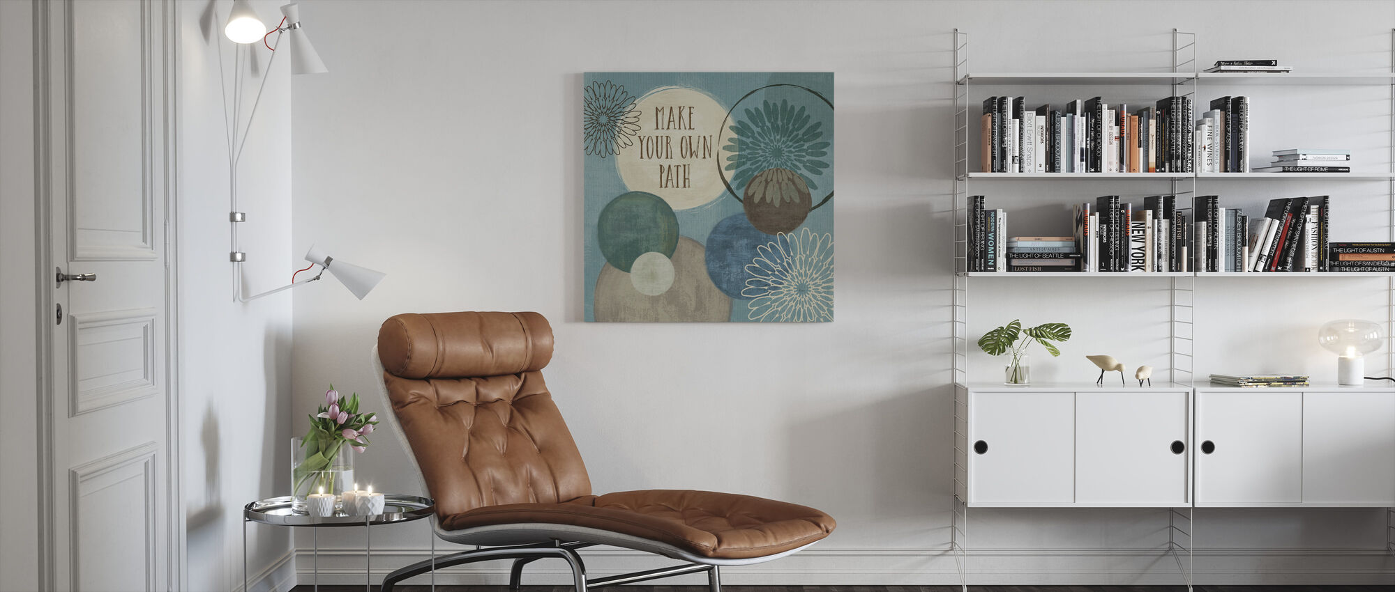 Make Your Own Path - Canvas print - Living Room