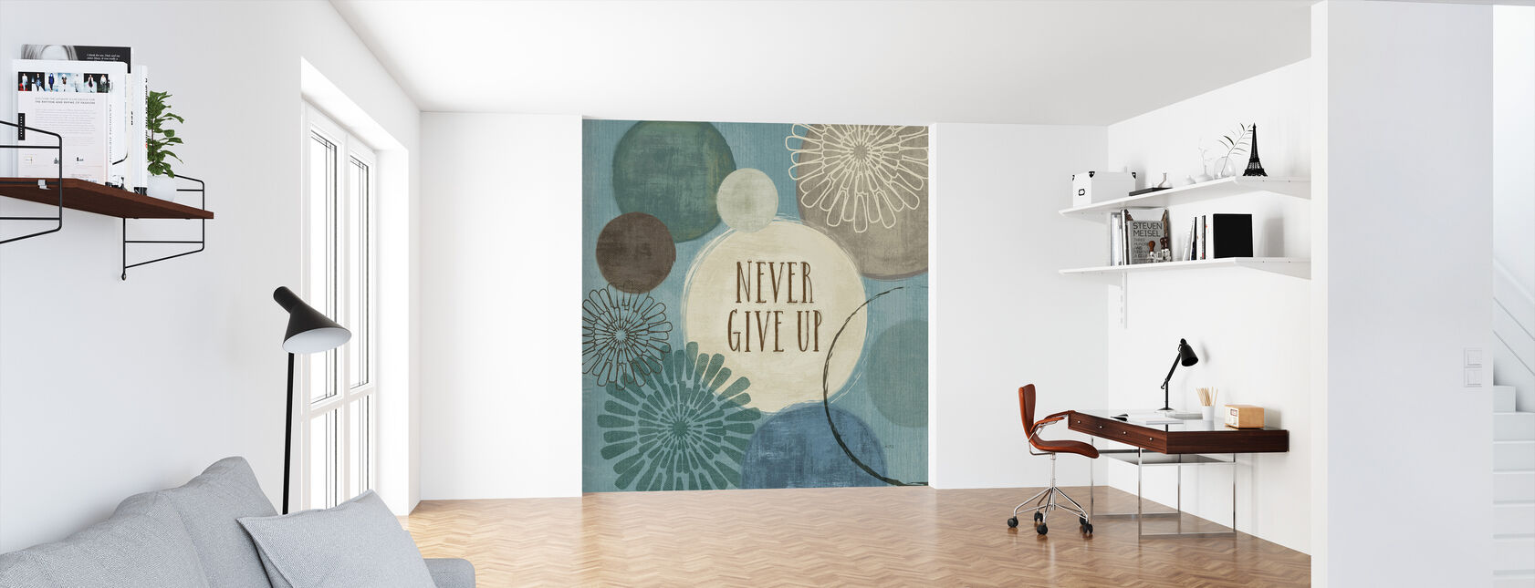 Never Give Up - Wallpaper - Office