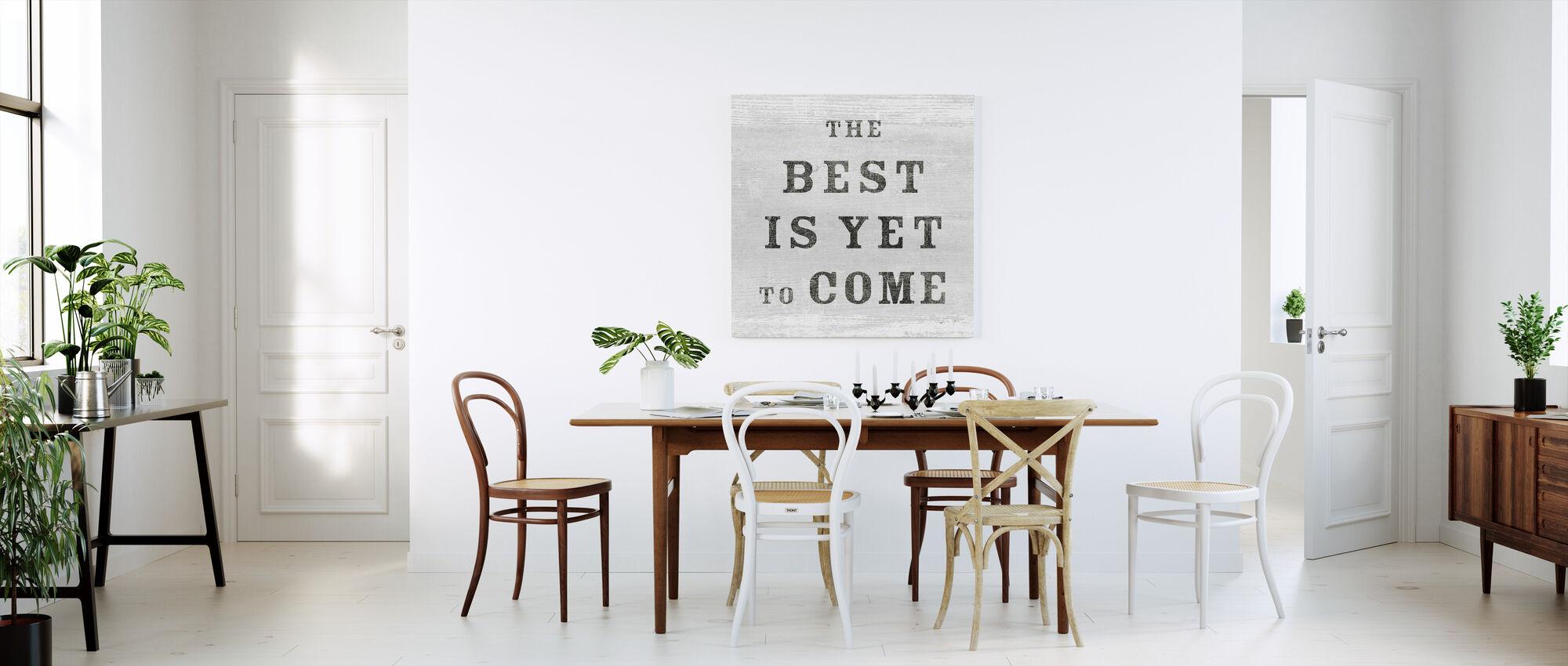 De Beste - Canvas print - Keuken