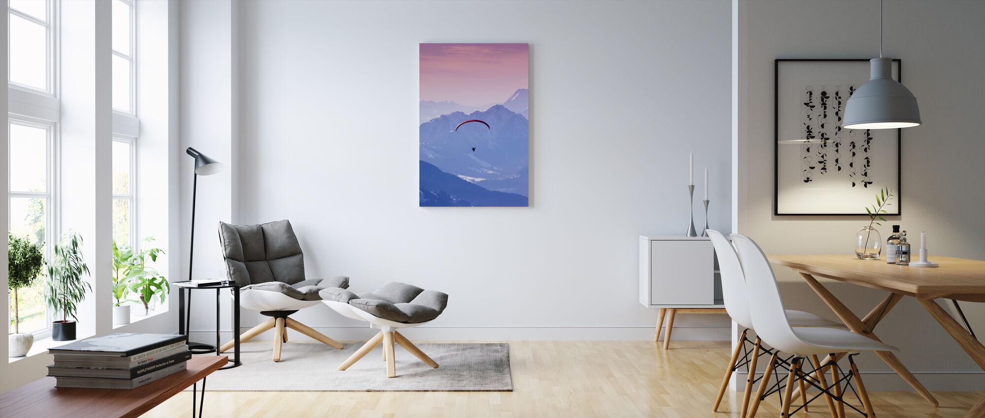 Kite in Hopfgarten, Austria - Canvas print - Living Room