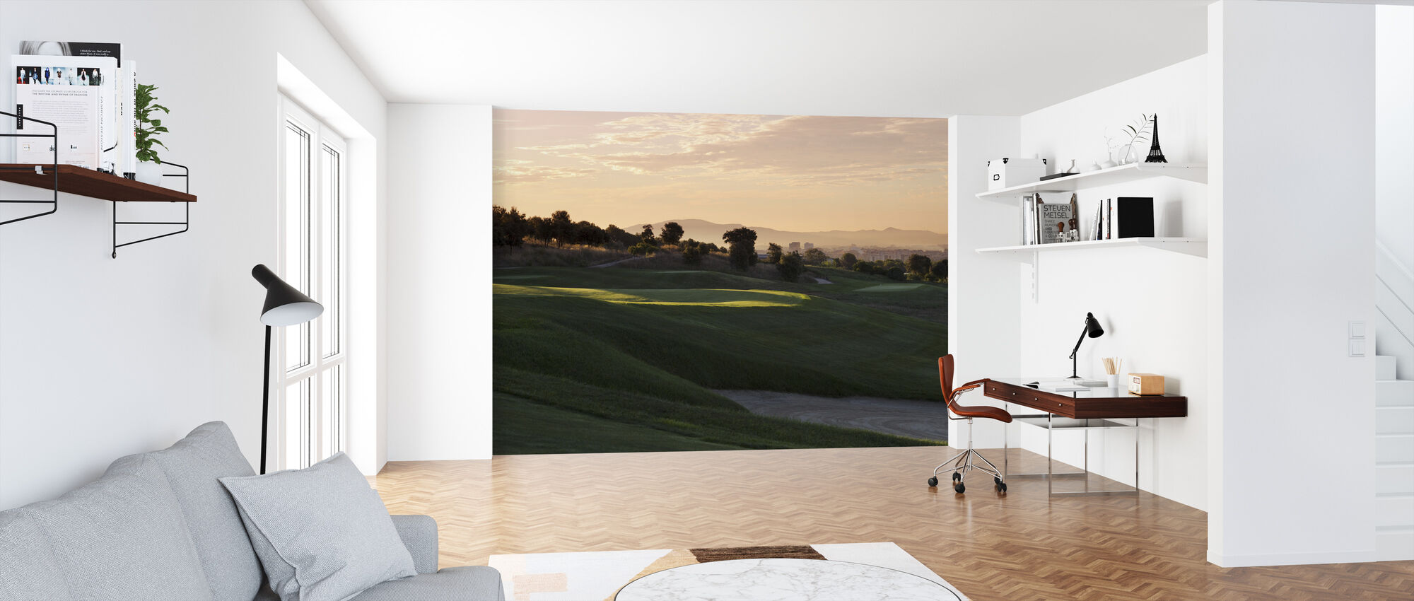 Golf Court in Barcelona - Wallpaper - Office