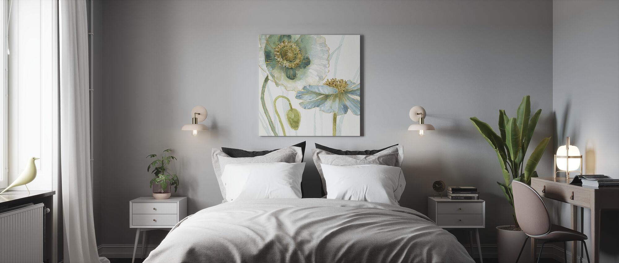 Mijn broeikas Bloemen 4 - Canvas print - Slaapkamer