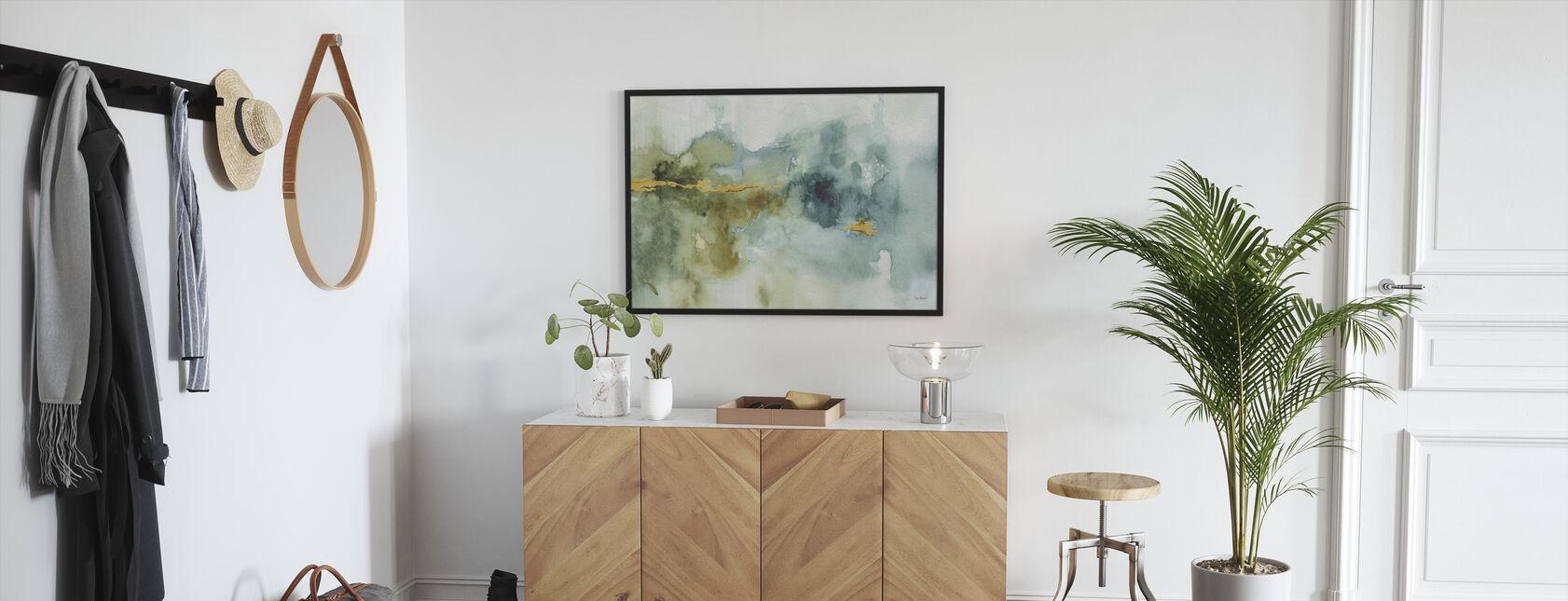My Greenhouse Watercolor 4 - Framed print - Hallway