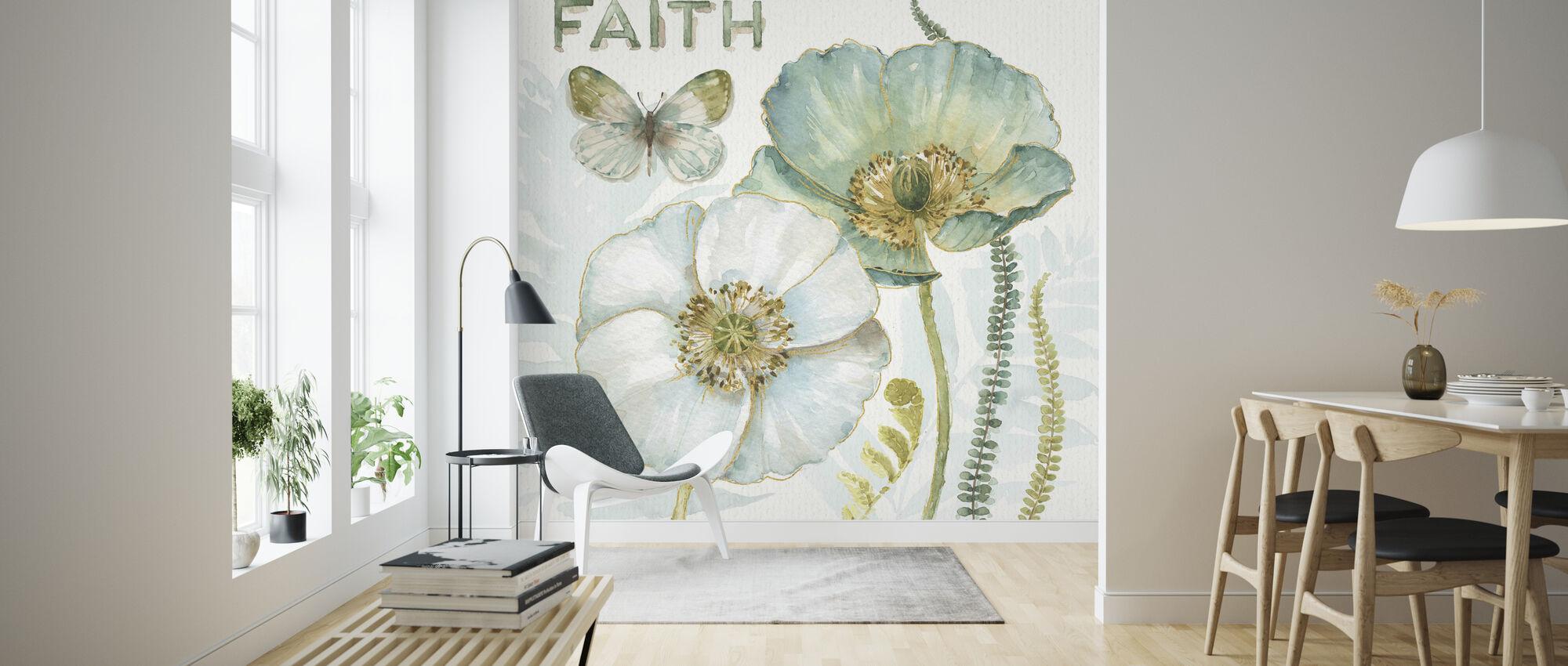 Mine drivhus Blomster - Tro - Tapet - Stue