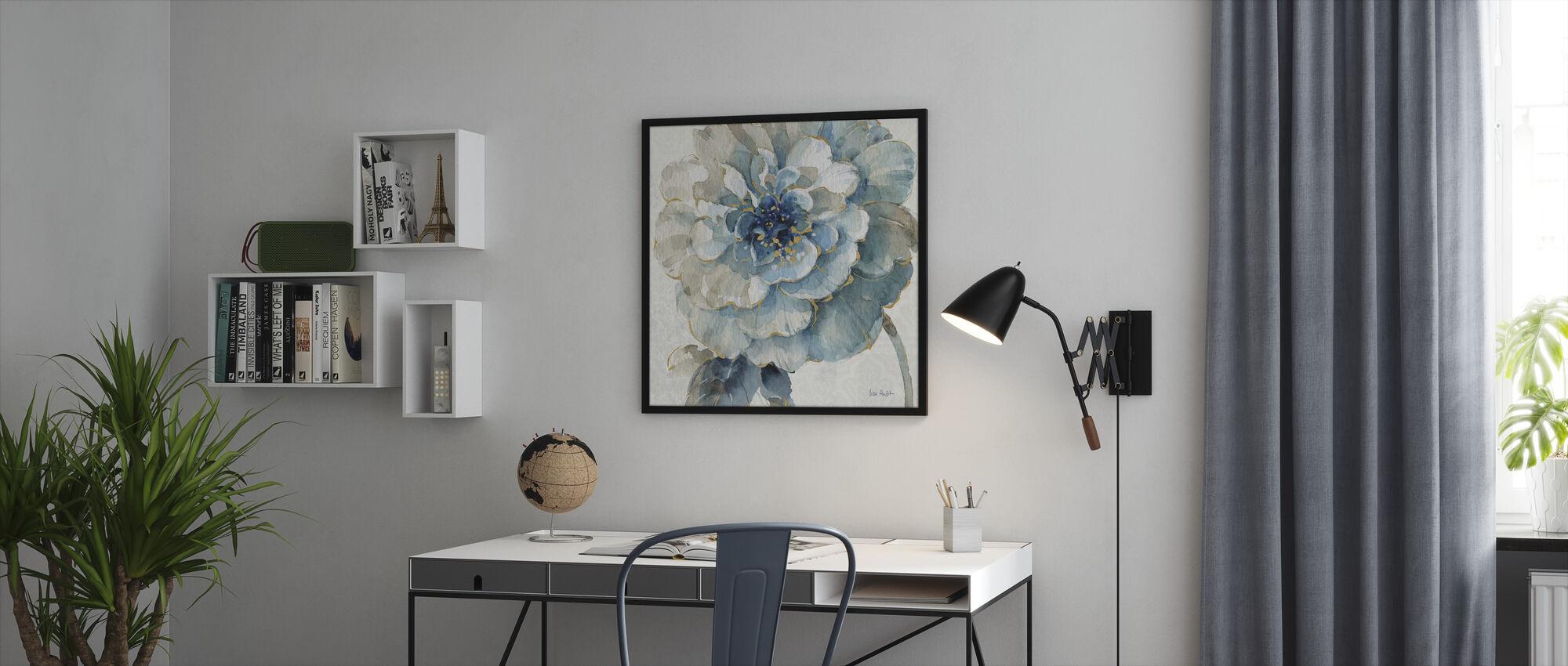 Indigold Kukka 3 - Kehystetty kuva - Toimisto