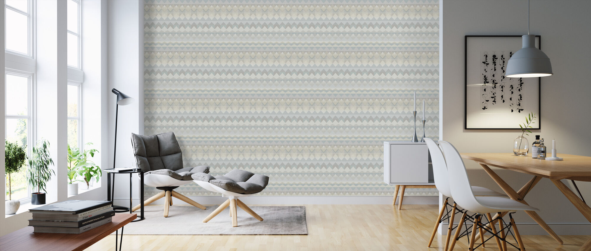 Weave Calm - Wallpaper - Living Room