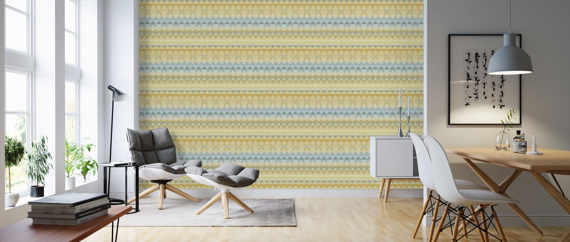 Weave Licht - Tapete - Wohnzimmer