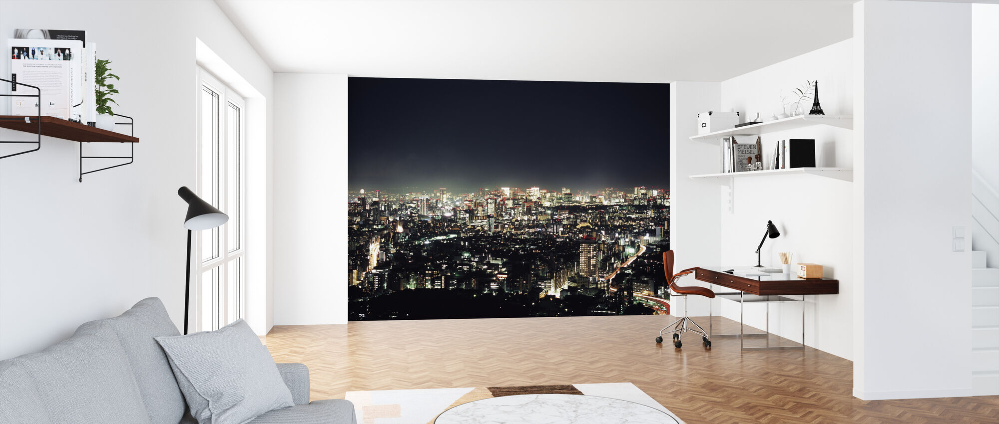 Tokyo by Night - Wallpaper - Office