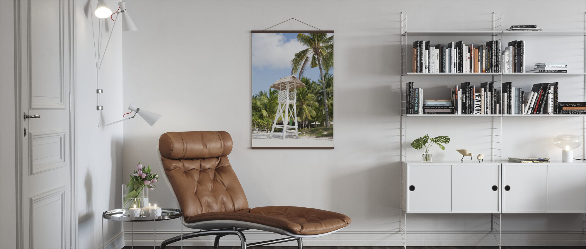 Beach in Bohol, Phillipines - Poster - Living Room