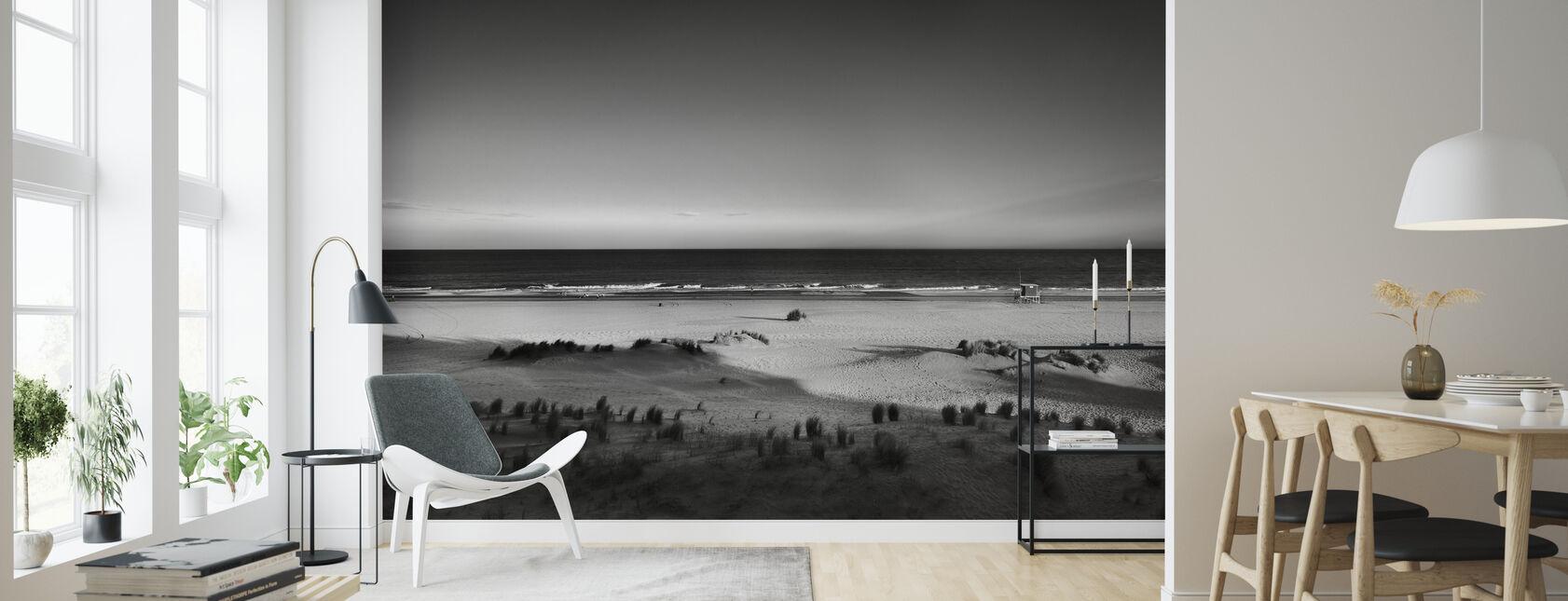 Beach in Argentina - Wallpaper - Living Room