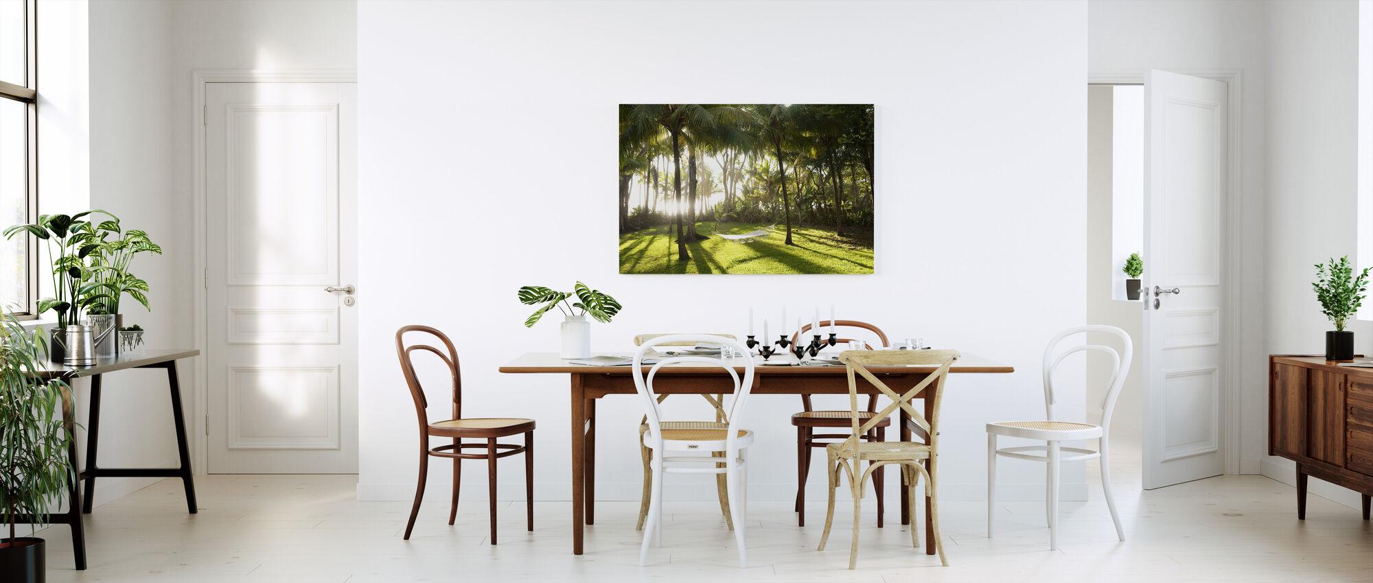 Hammock in Santa Teresa, Costa Rica - Canvas print - Kitchen