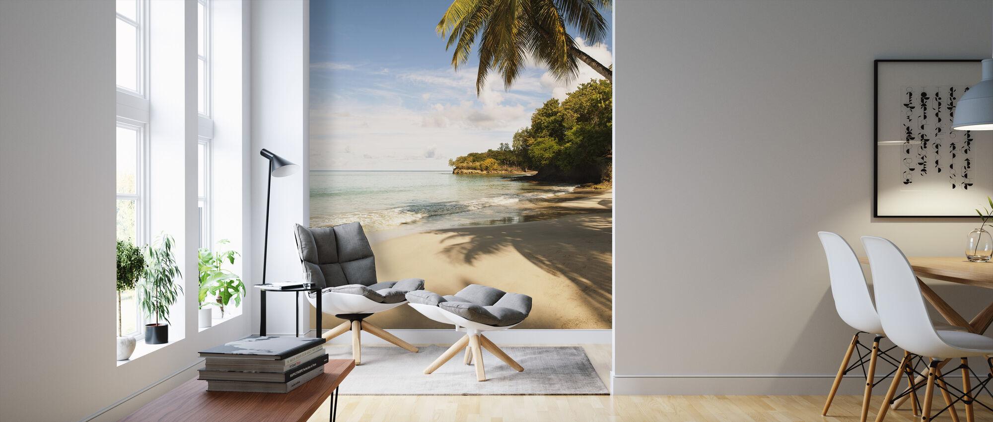 Beach in Saint Lucia, Carribean - Wallpaper - Living Room