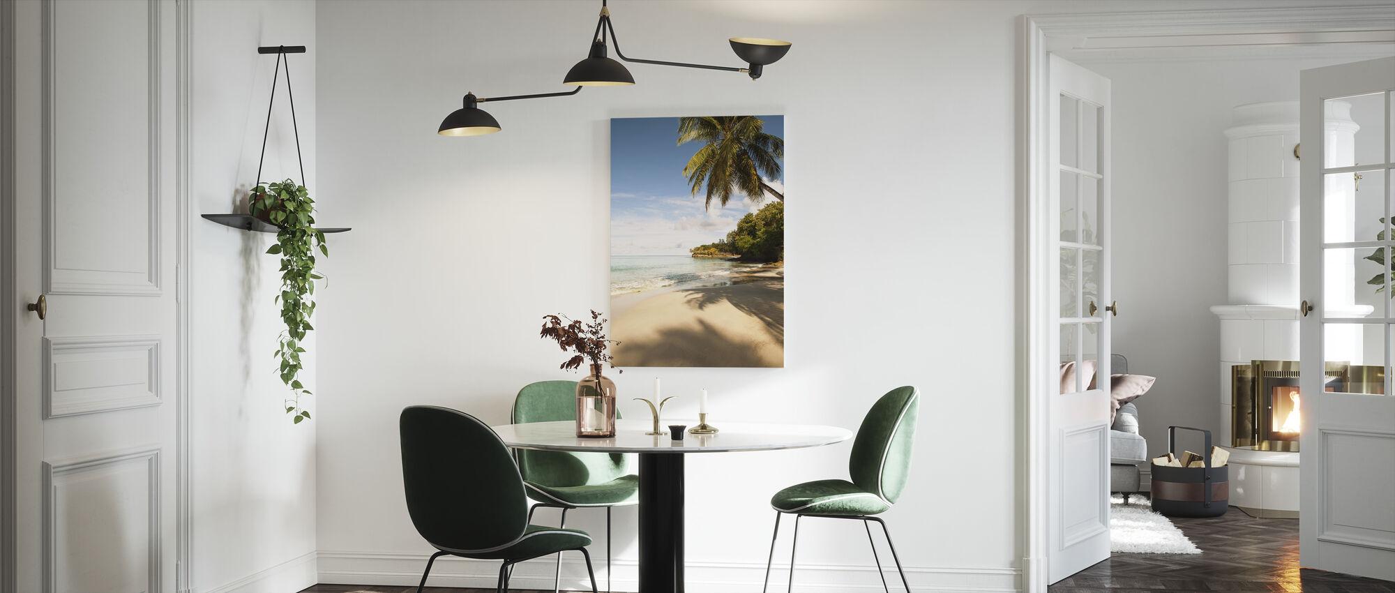 Beach in Saint Lucia, Carribean - Canvas print - Kitchen