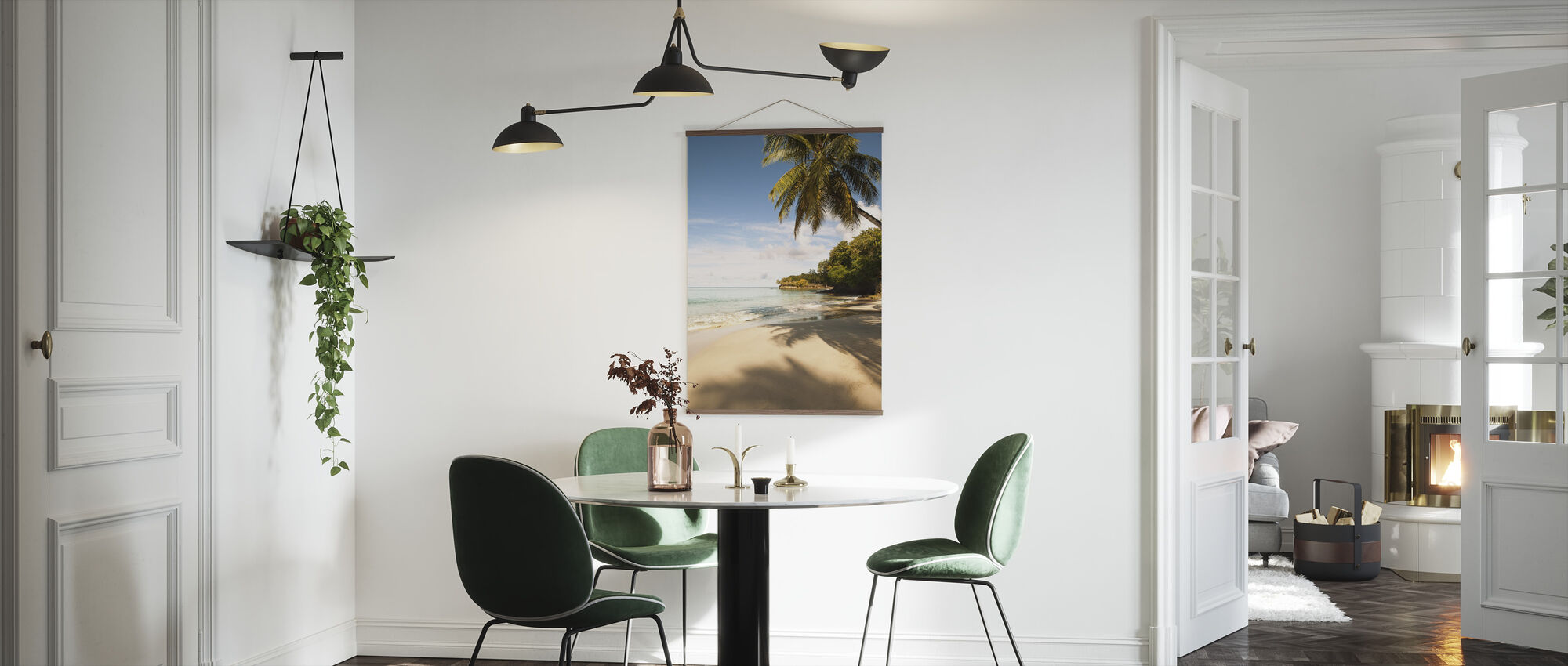 Beach in Saint Lucia, Carribean - Poster - Kitchen