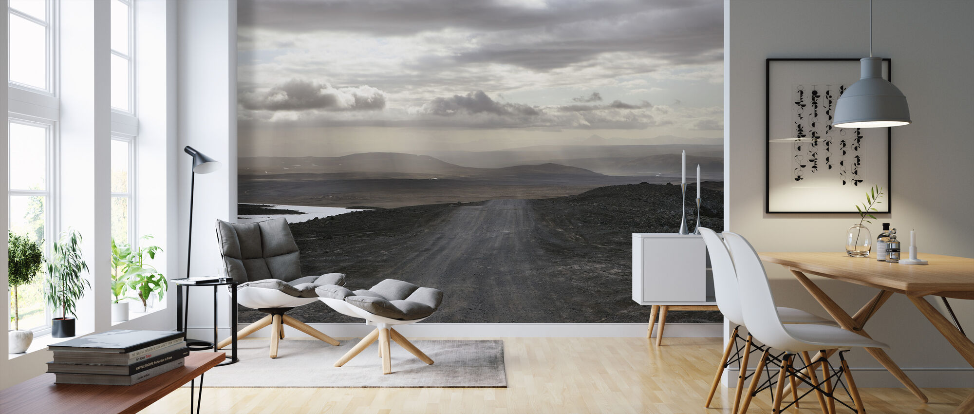 Islandsk landskap - Tapet - Stue