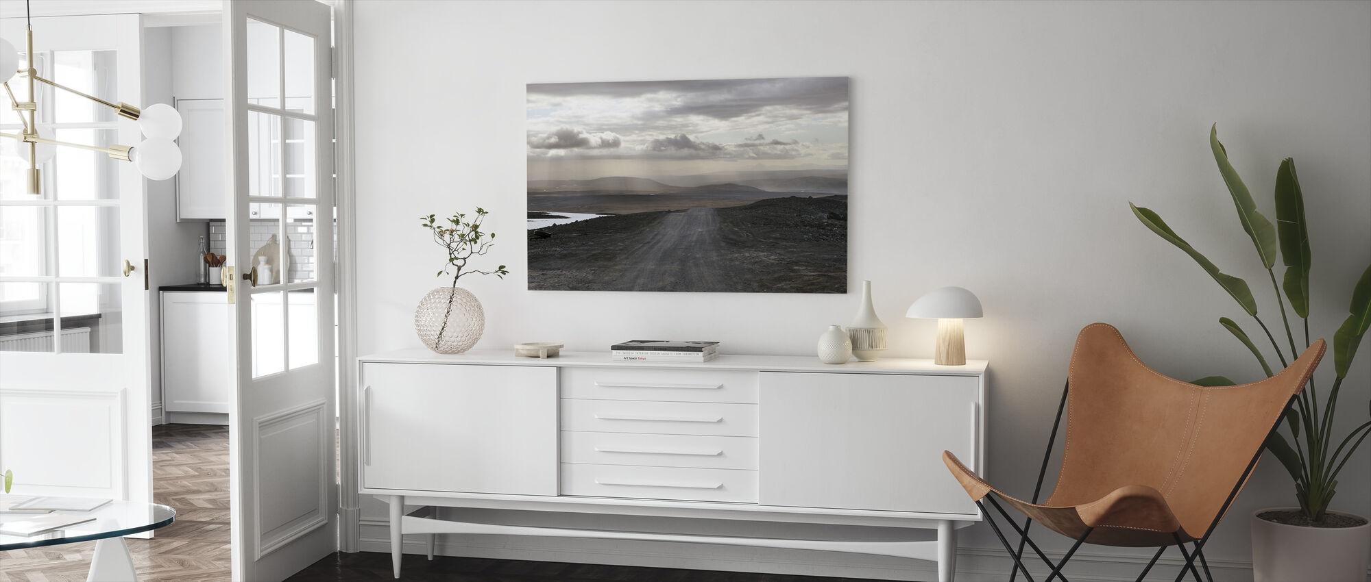Isländskt landskap - Canvastavla - Vardagsrum