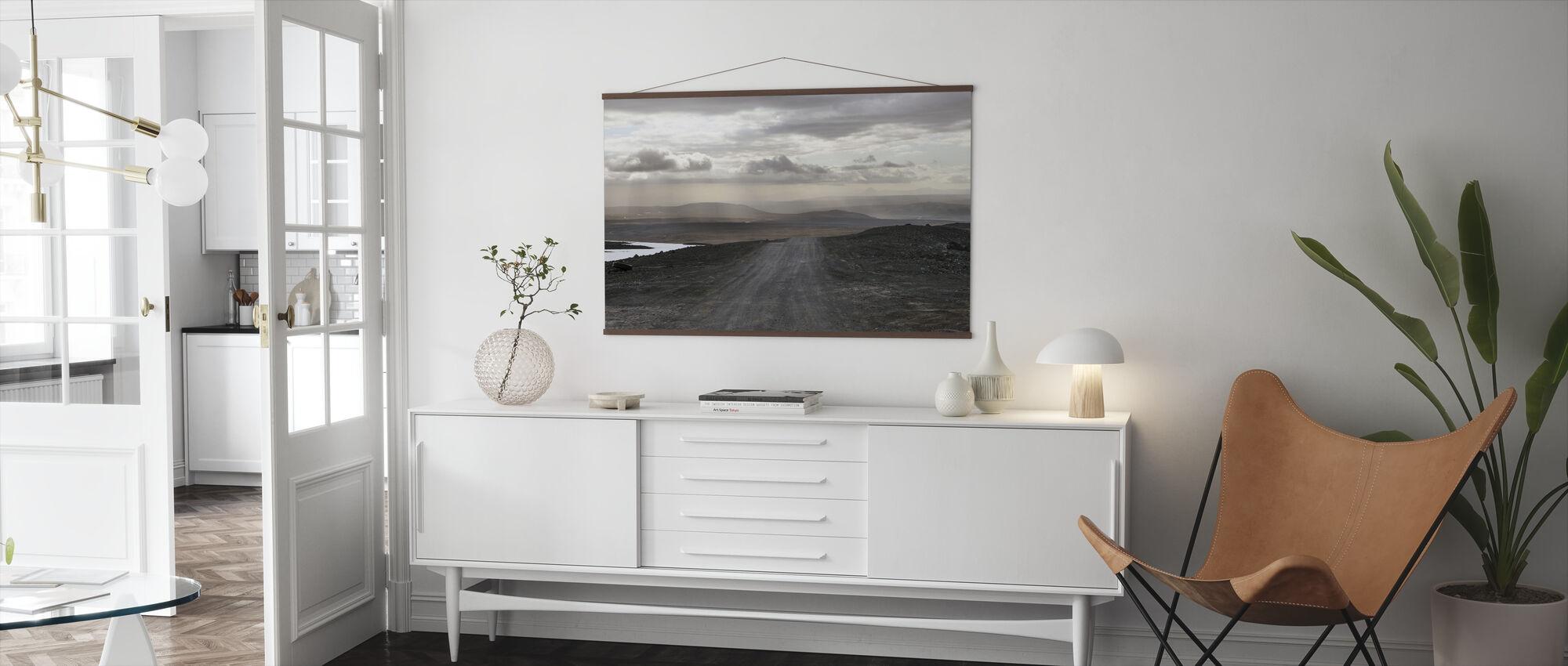 IJslands landschap - Poster - Woonkamer