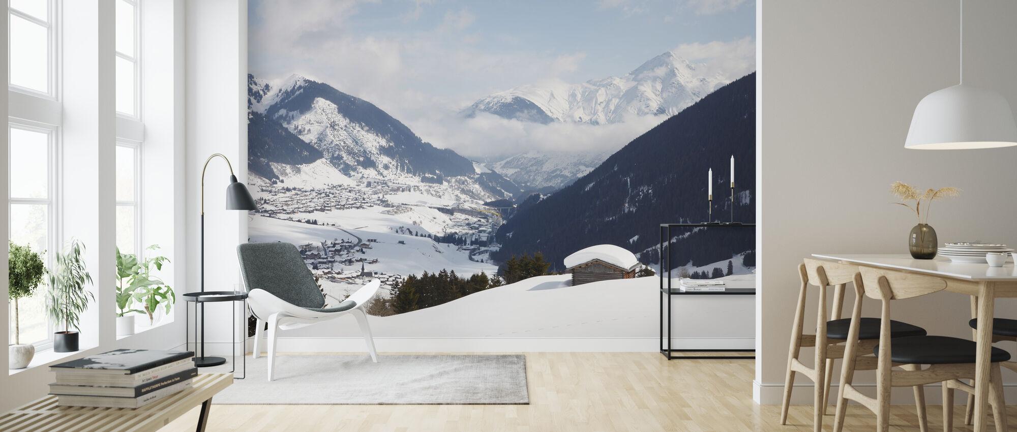 Andermatt, Switzerland - Wallpaper - Living Room