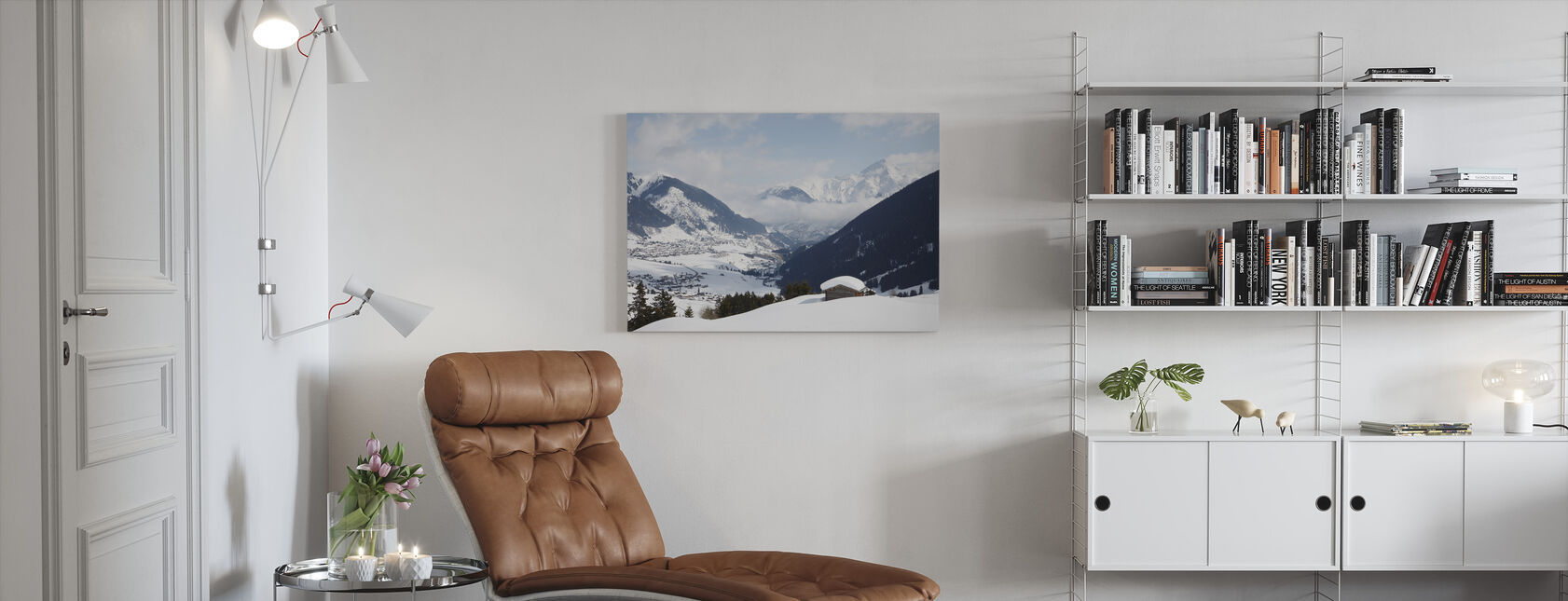Andermatt, Schweiz - Canvastavla - Vardagsrum