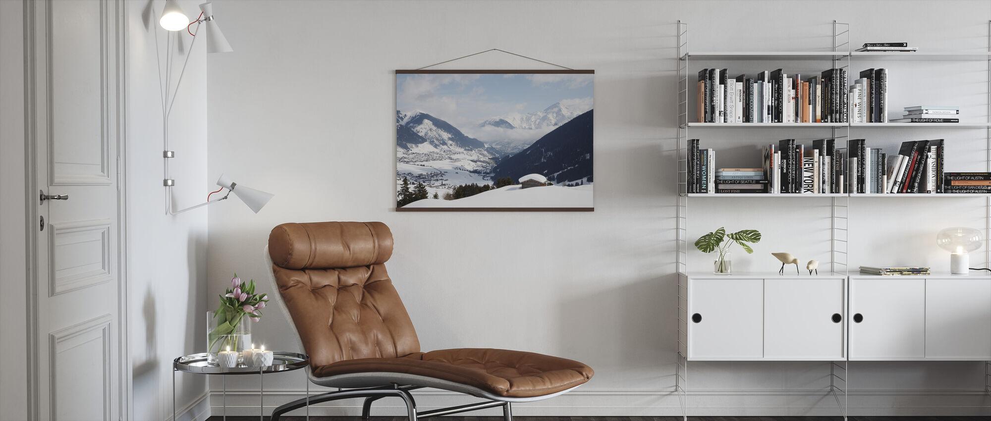 Andermatt, Switzerland - Poster - Living Room