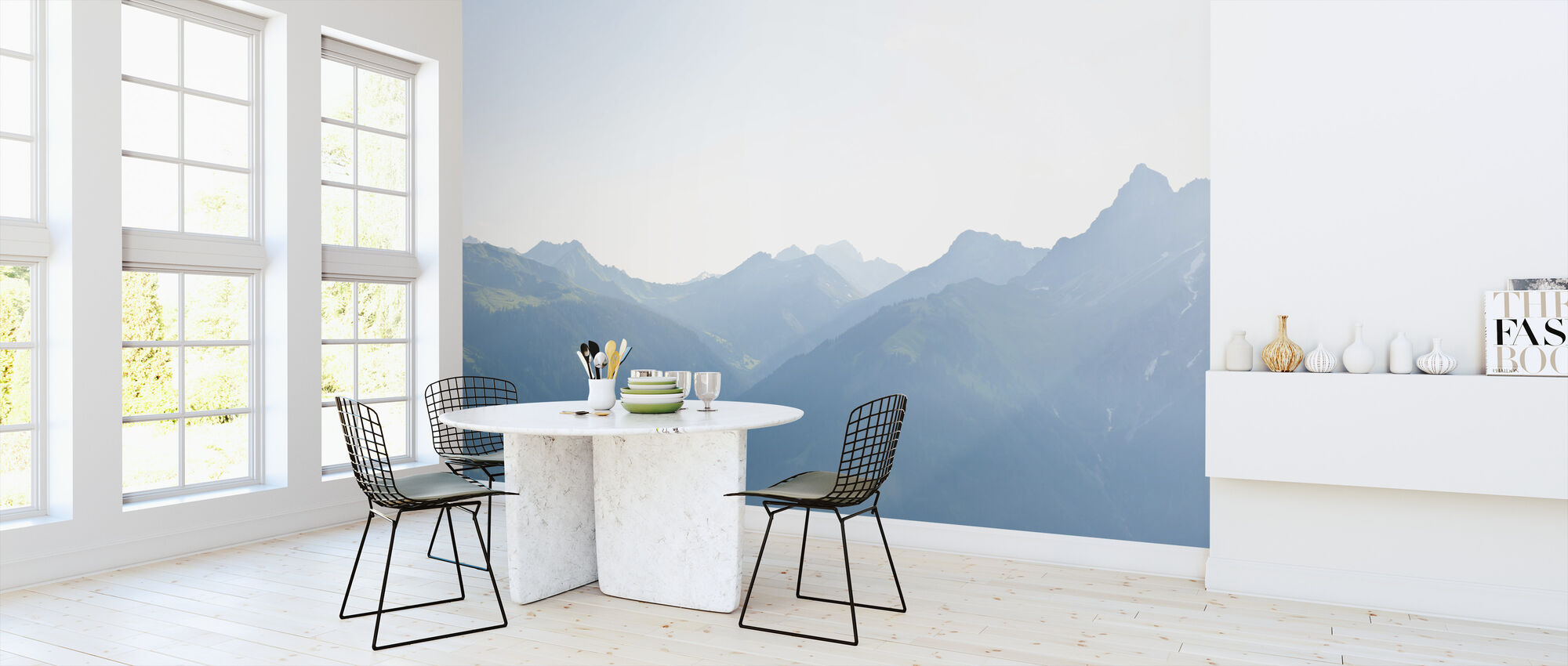 Vorarlberg, Austria - Tapetti - Keittiö