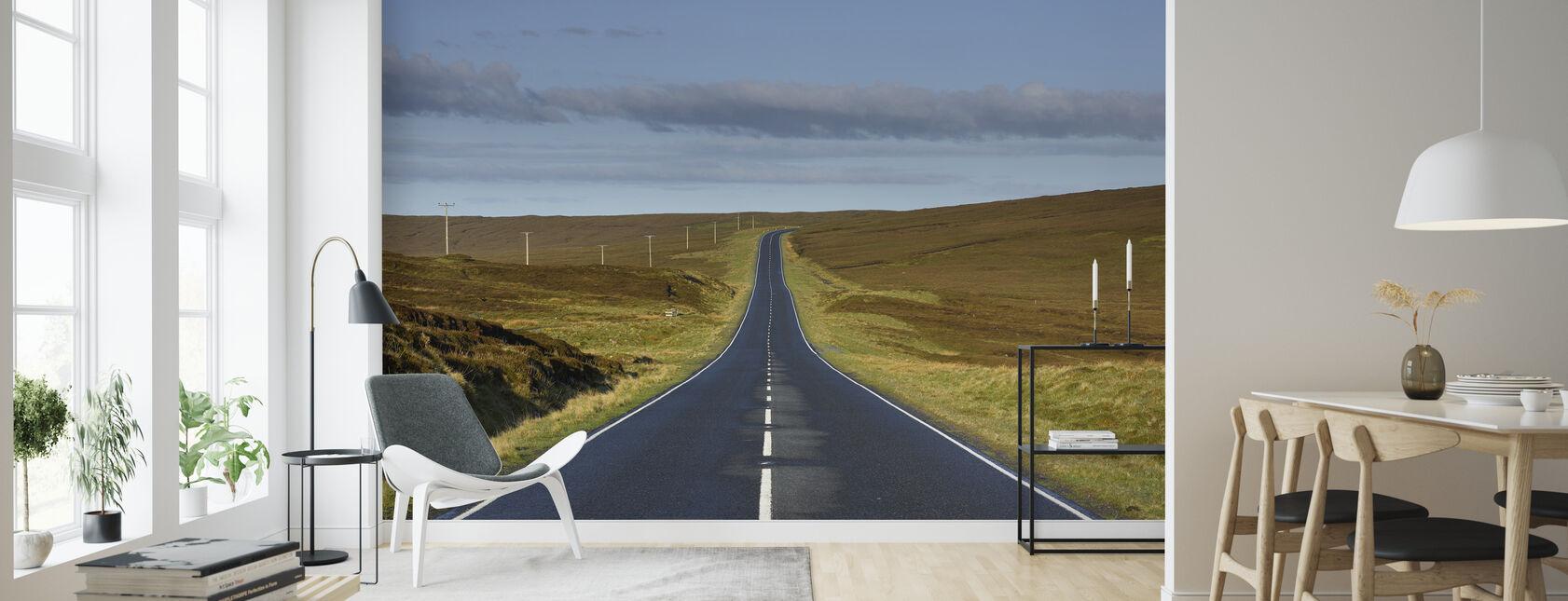 Tomme Road i Shetland, Skotland - Tapet - Stue