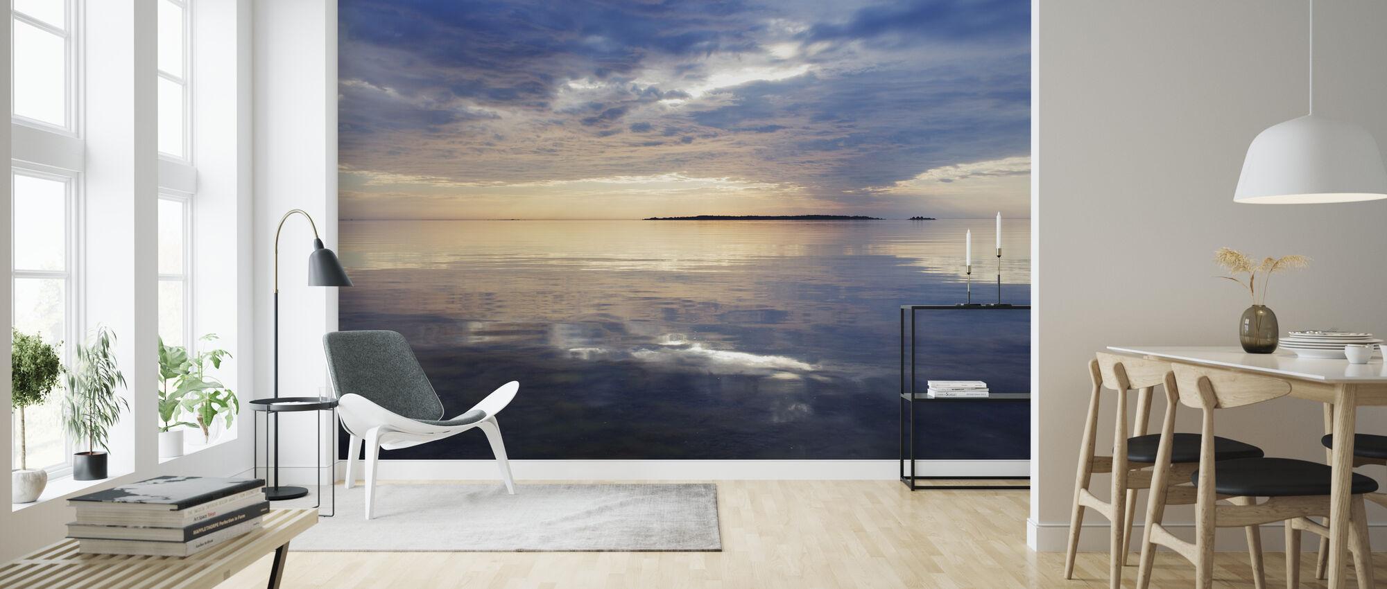 Sky Mirrored in Baltic Sea - Wallpaper - Living Room