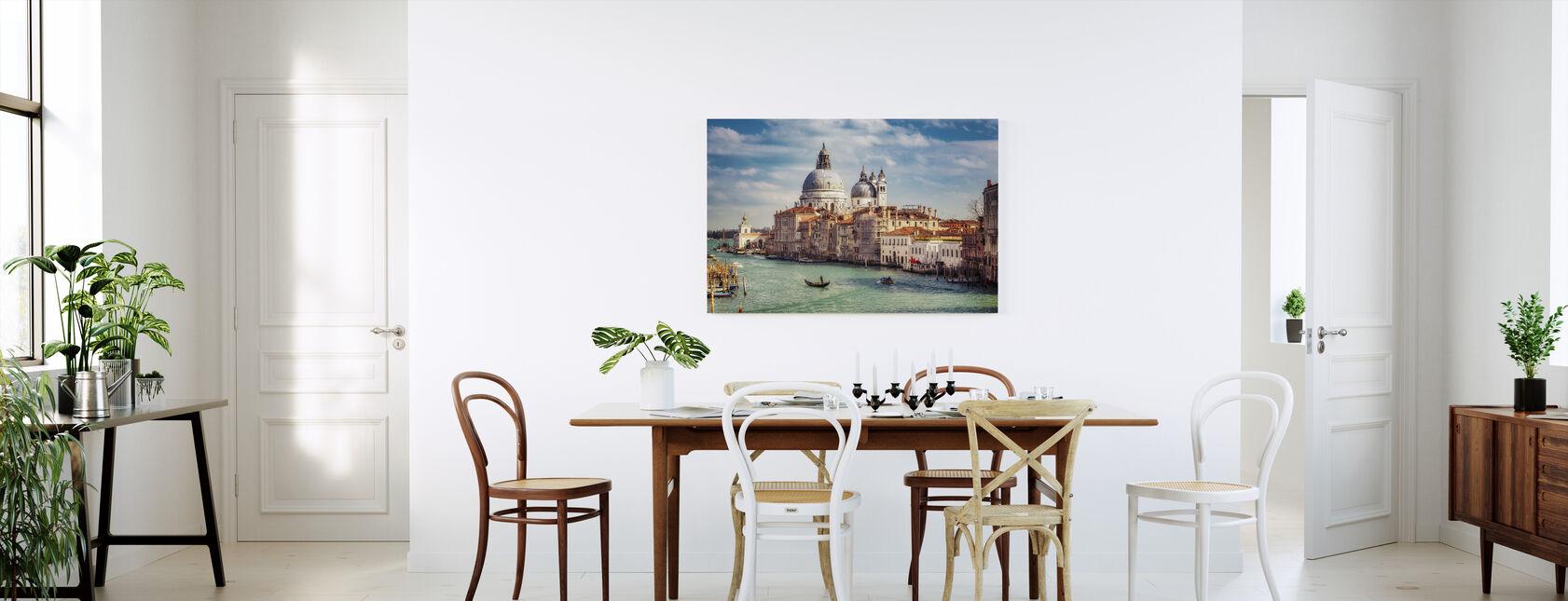 Basílica de Santa Maria della Salute en Venecia - Lienzo - Cocina