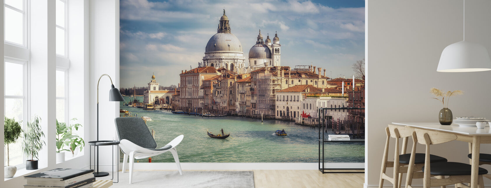 Basilica Santa Maria della Salute in Venice - Wallpaper - Living Room