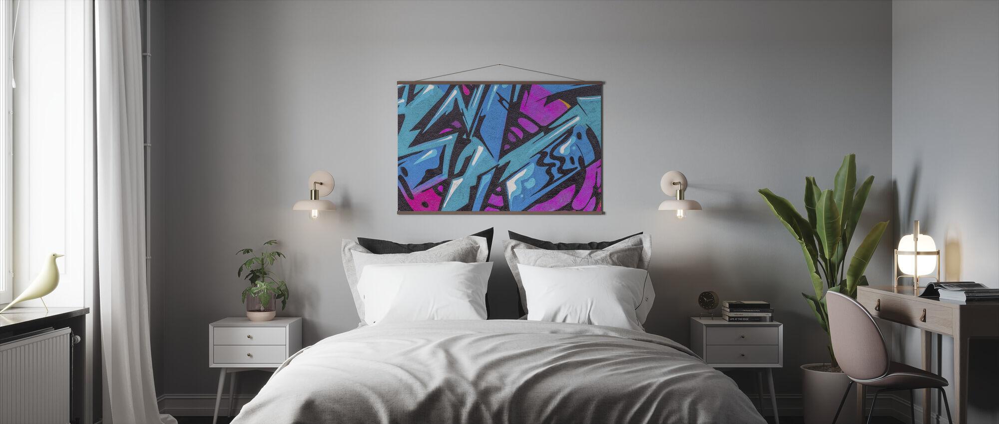 Fashion Color Graffiti - Poster - Bedroom