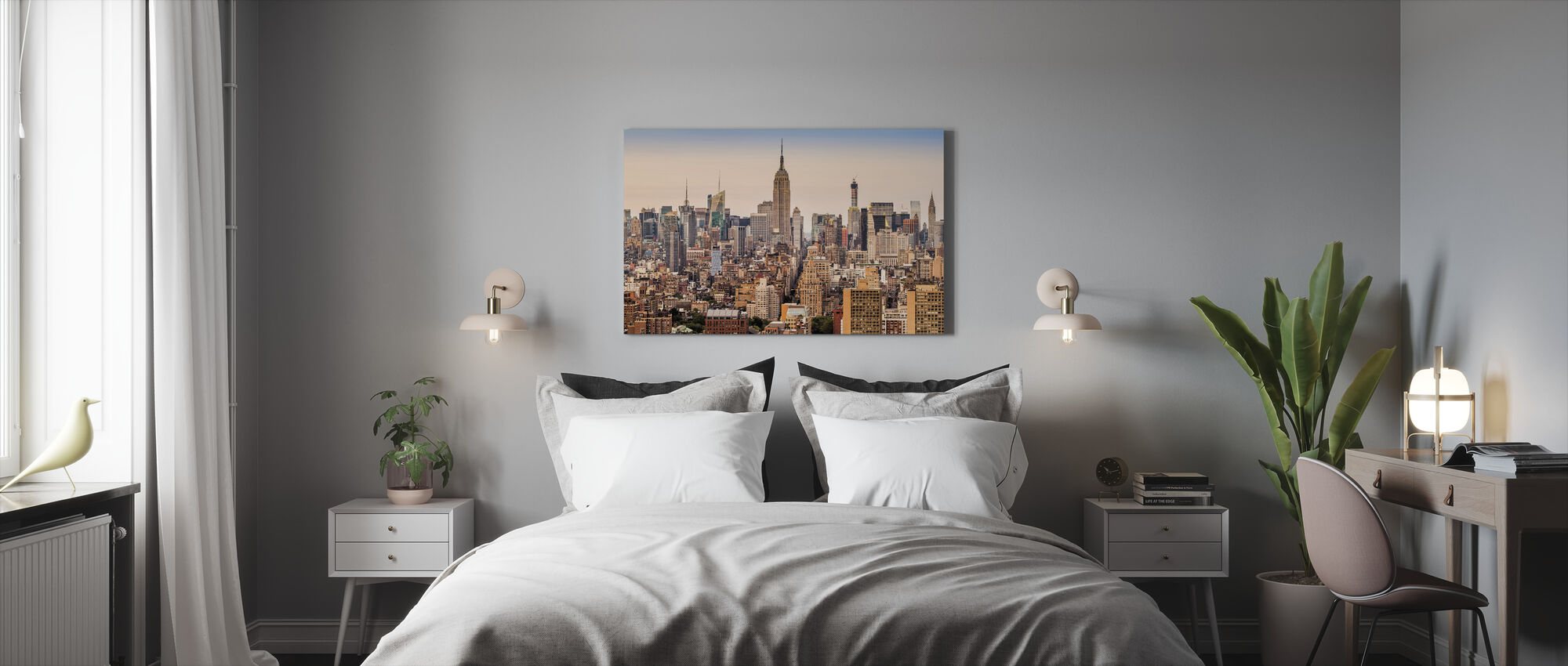 New York Midtown - Canvas print - Bedroom