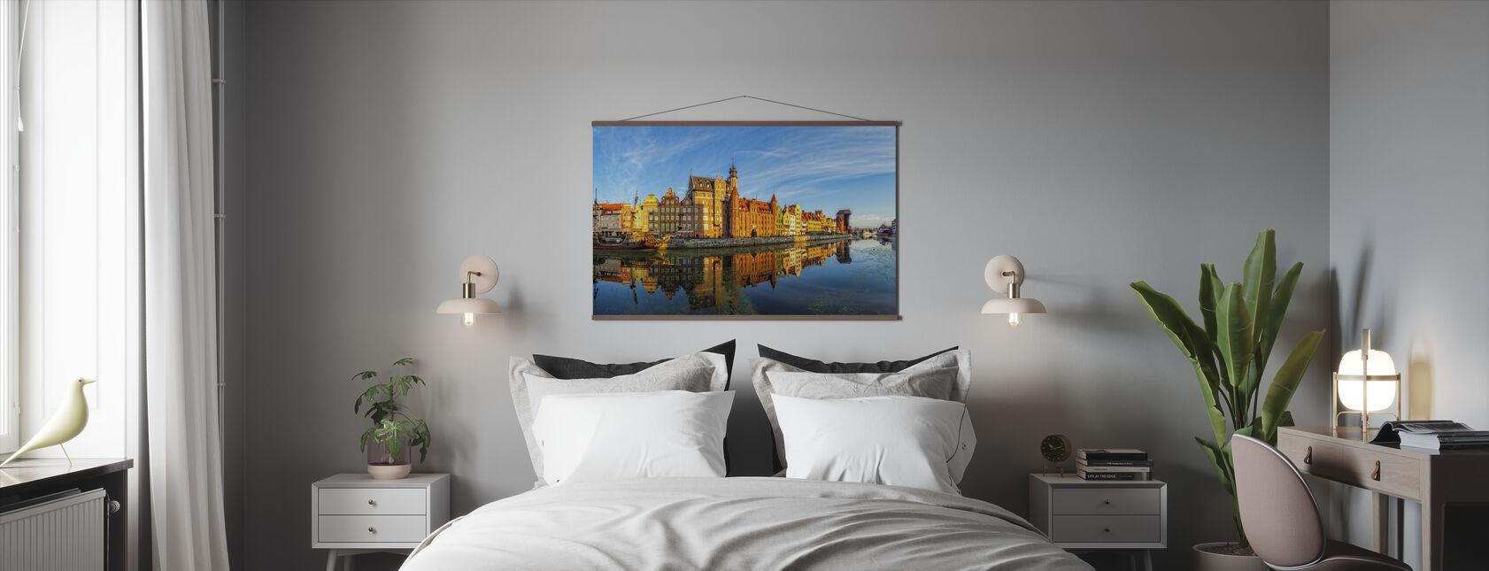 Riverside of Gdansk - Poster - Bedroom