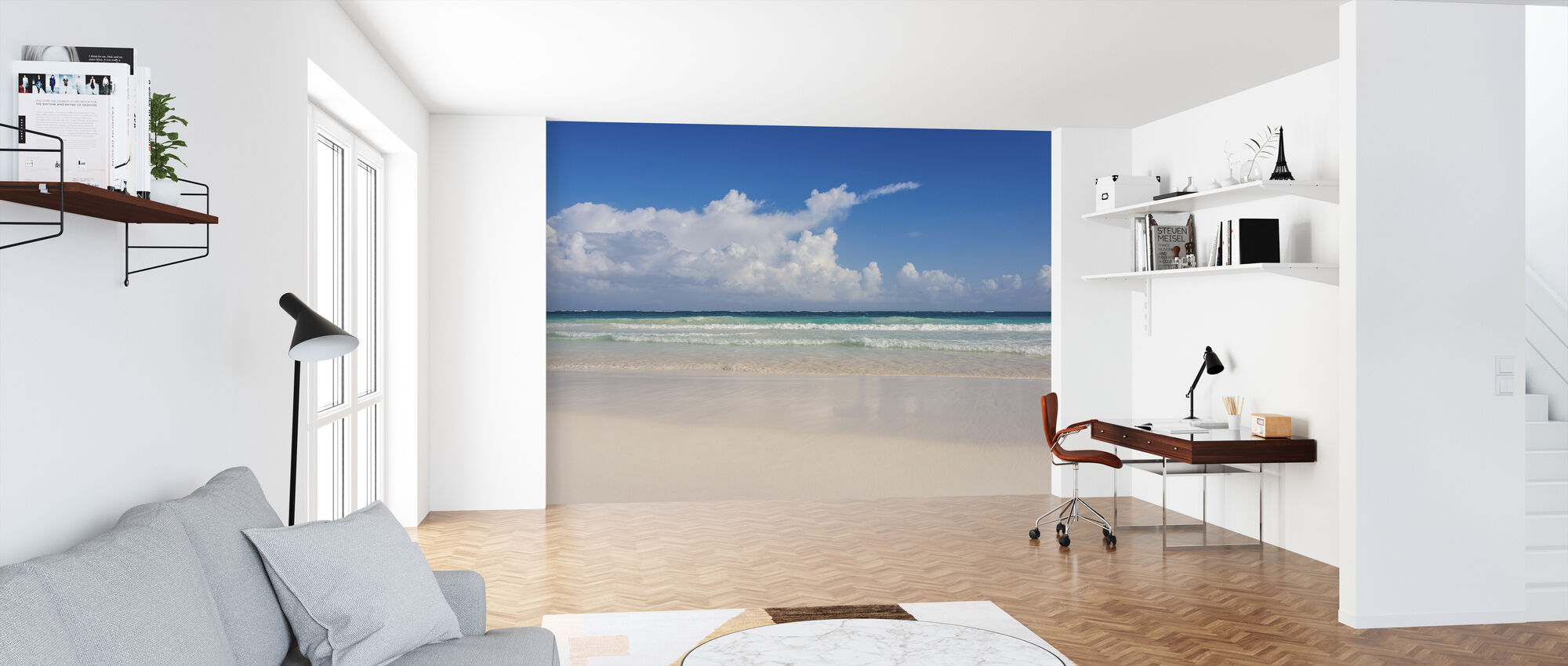 Caribbean Ocean - Wallpaper - Office