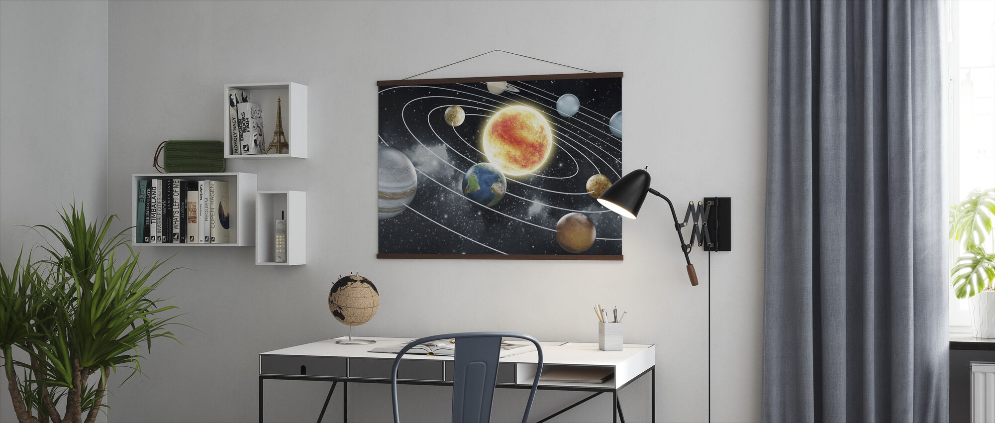 Eight Planets - Poster - Office