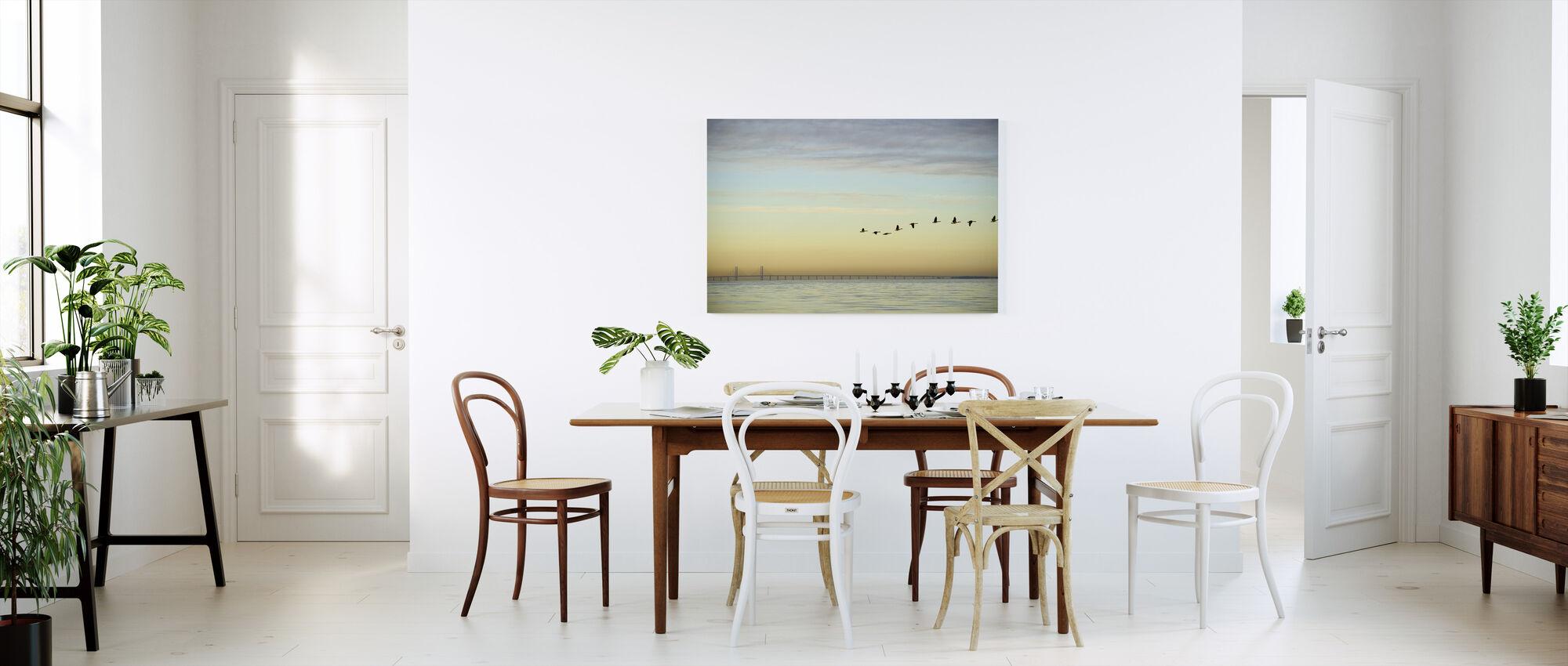 Flock of Birds - Canvas print - Kitchen