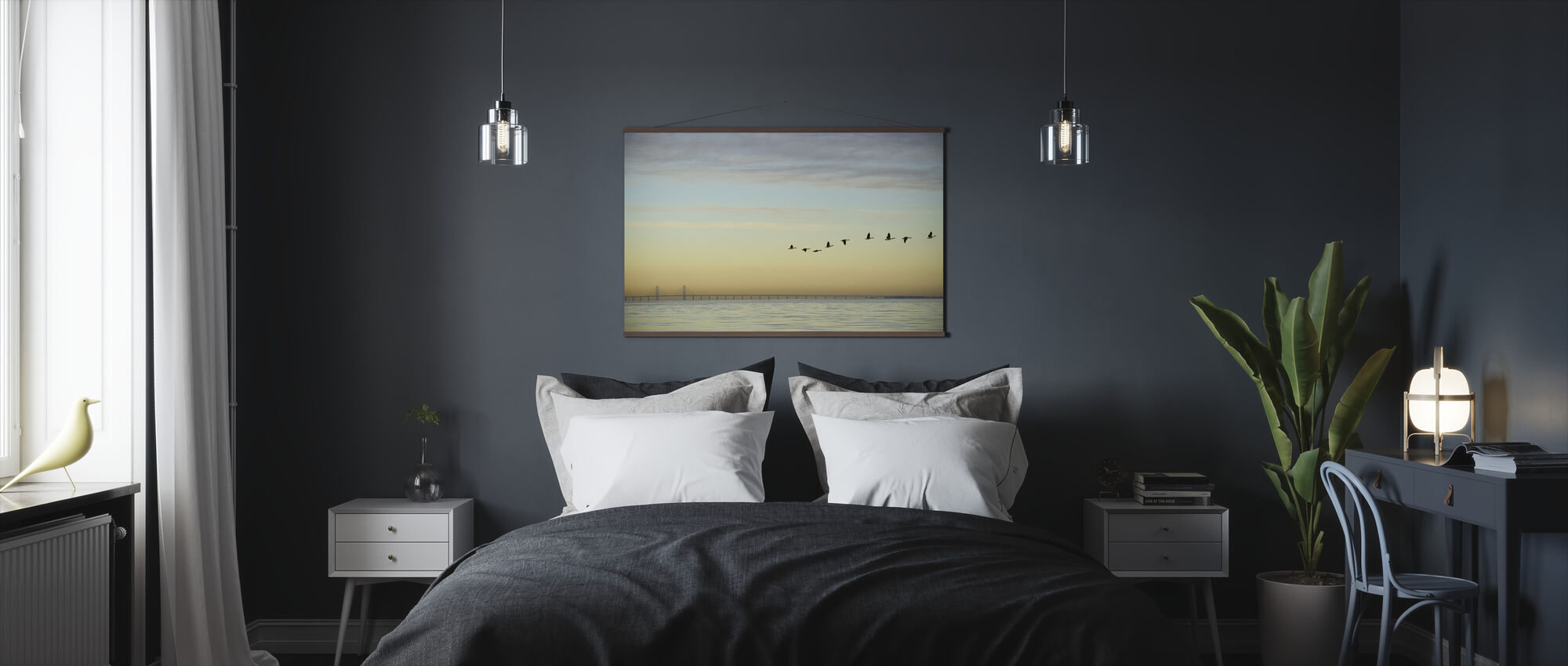 Flock of Birds - Poster - Bedroom