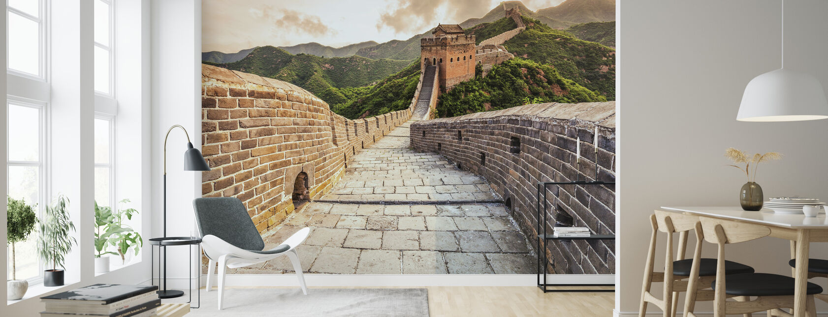 Great Wall of China - Wallpaper - Living Room