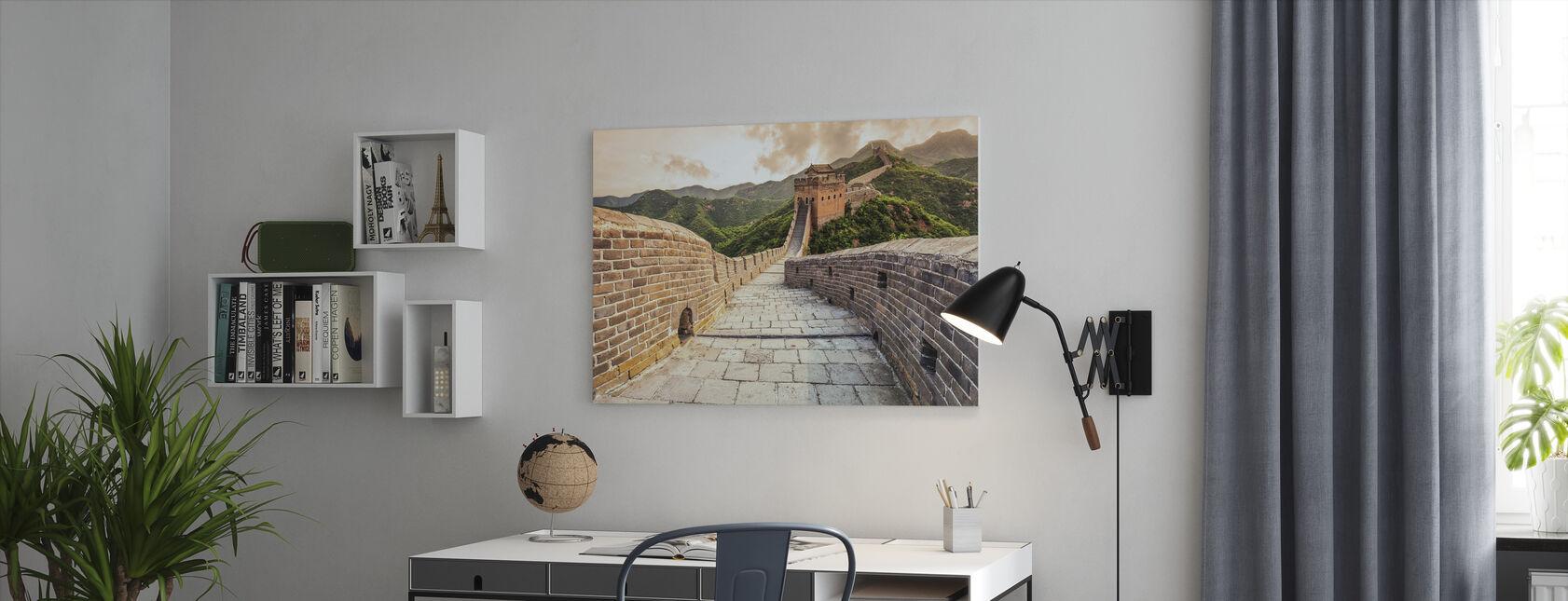 Kinas stora mur - Canvastavla - Kontor