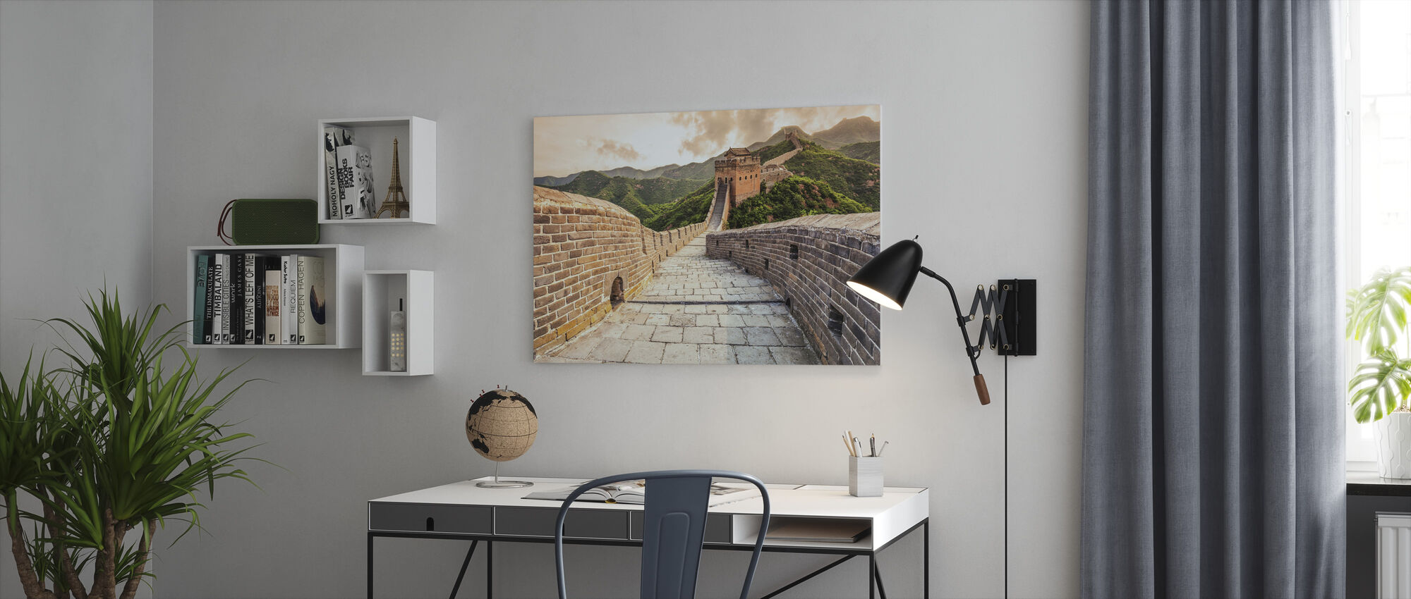 Great Wall of China - Canvas print - Office