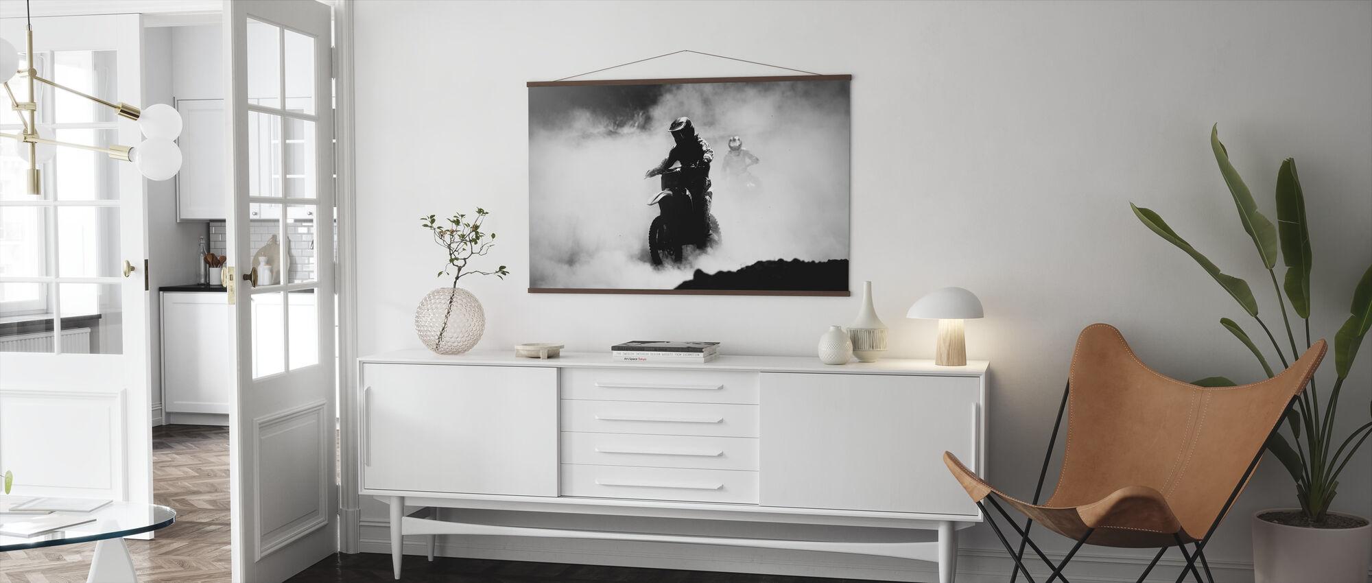 Motocross Racer - Poster - Living Room